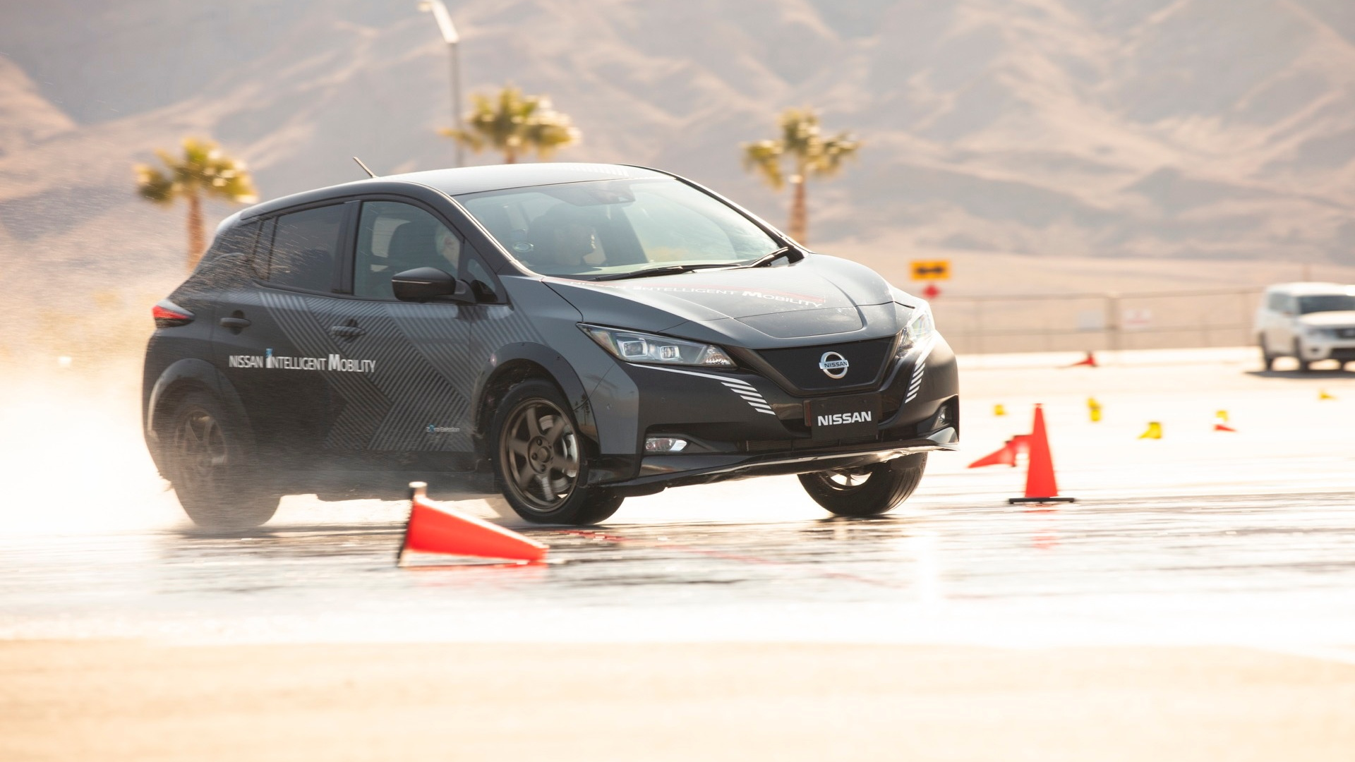 Nissan Leaf e-Force  -  Las Vegas, January 2020