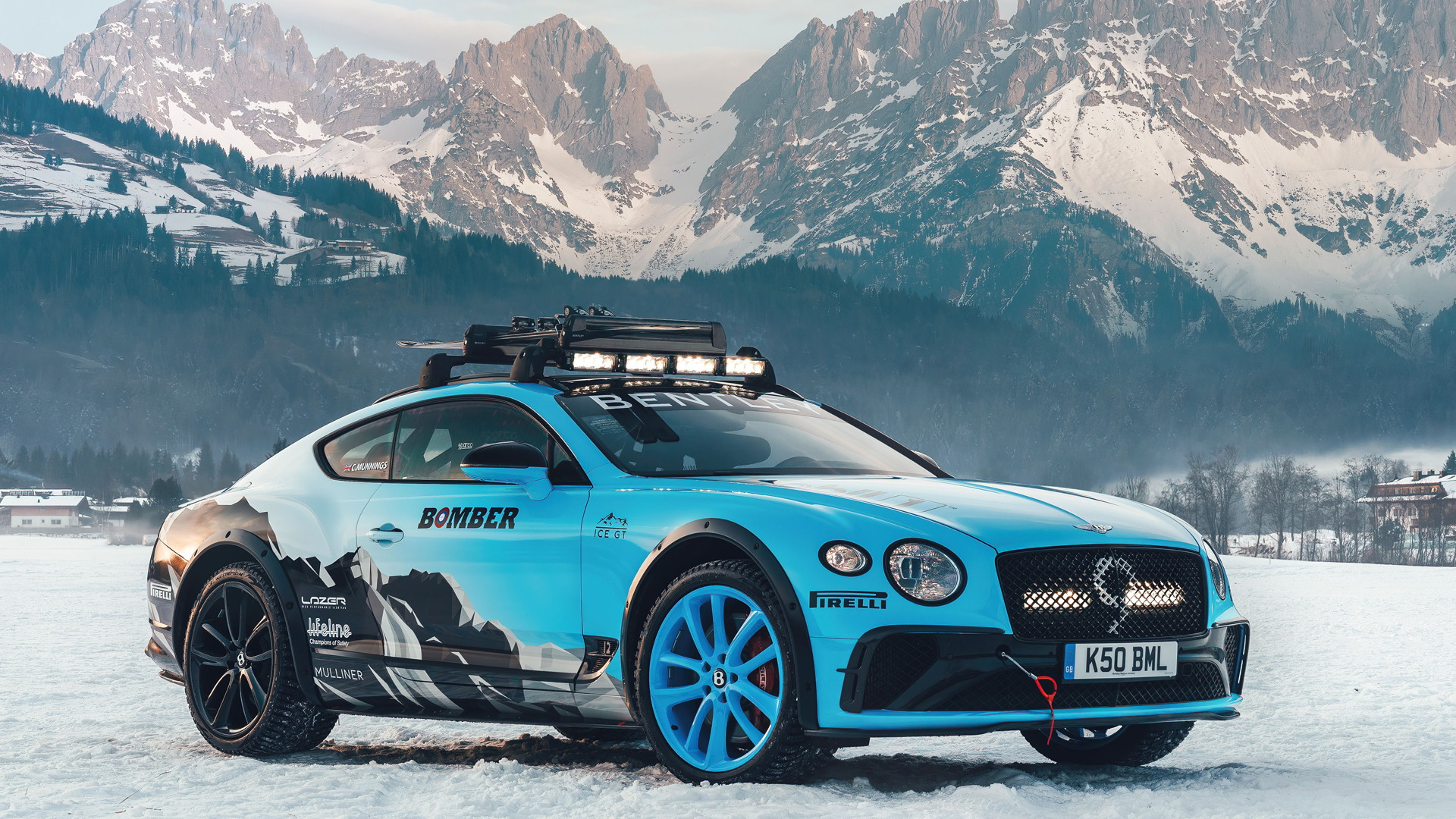 Bentley Continental GT developed for 2020 GP Ice Race