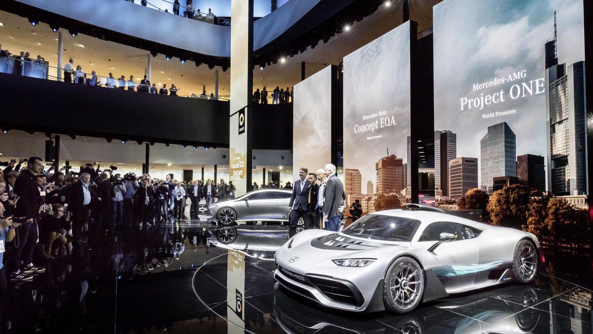 Mercedes-Benz at the 2017 Frankfurt auto show