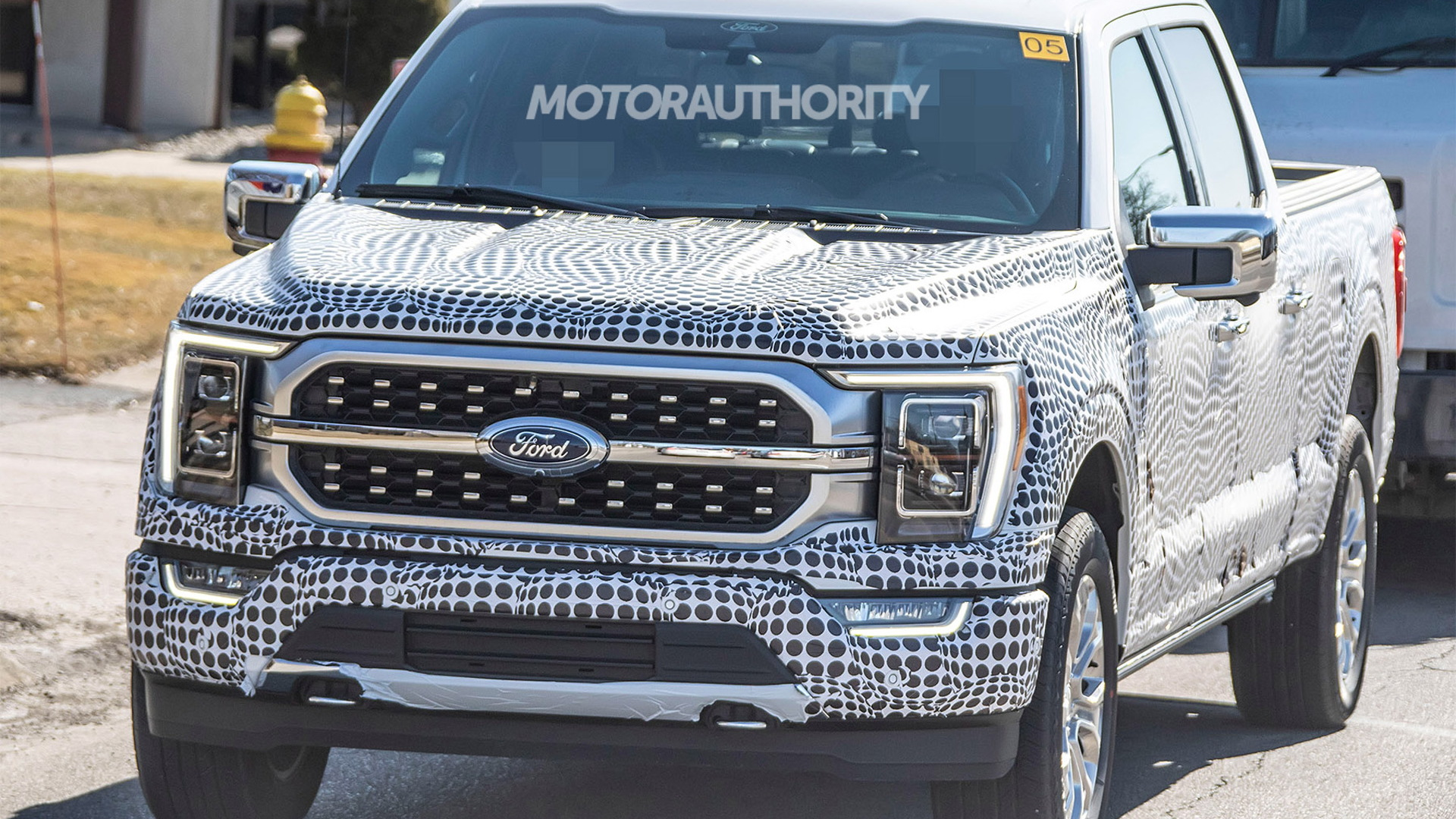 2021 Ford F-150 spy shots - Photo credit: S. Baldauf/SB-Medien