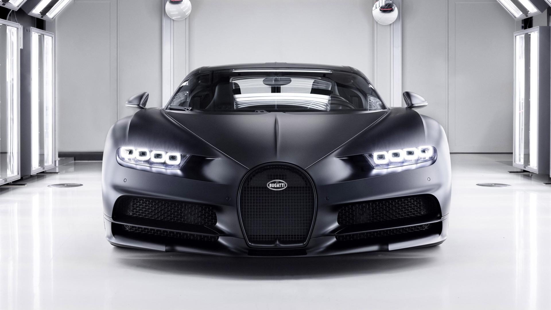 Bugatti Chiron Sport Noire Sportive
