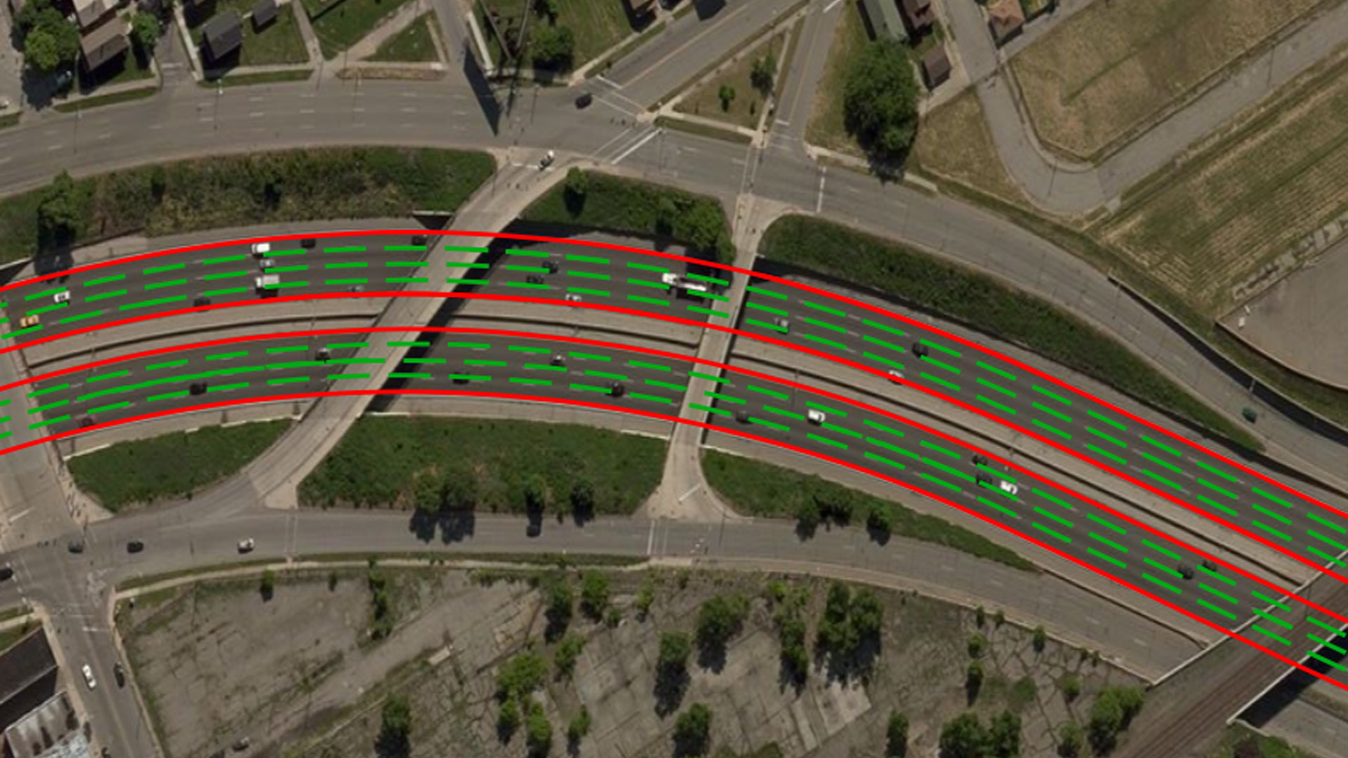 Highly detailed maps for self-driving cars created by satellite imagery