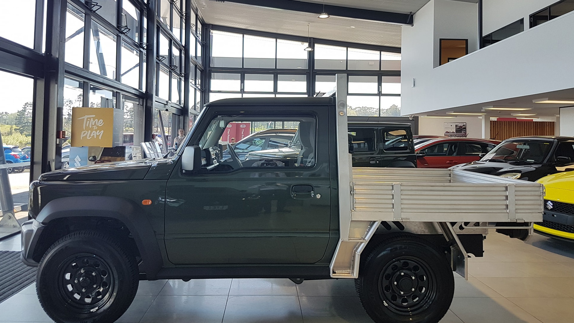 2019 Suzuki Jimny Flatdeck pickup truck conversion - Photo credit: West City Suzuki/Facebook