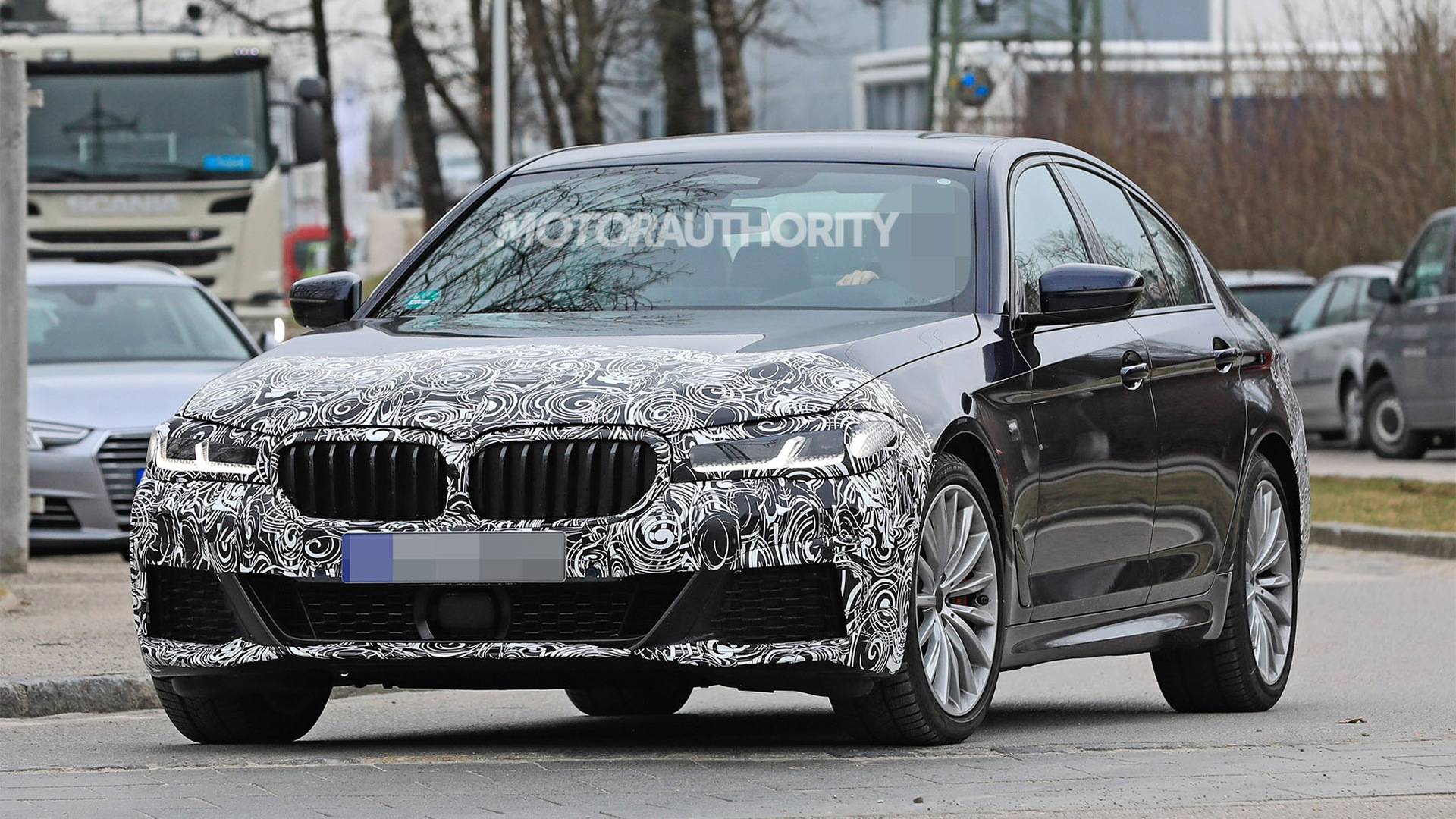 2021 Bmw 5 Series Spy Shots And Video