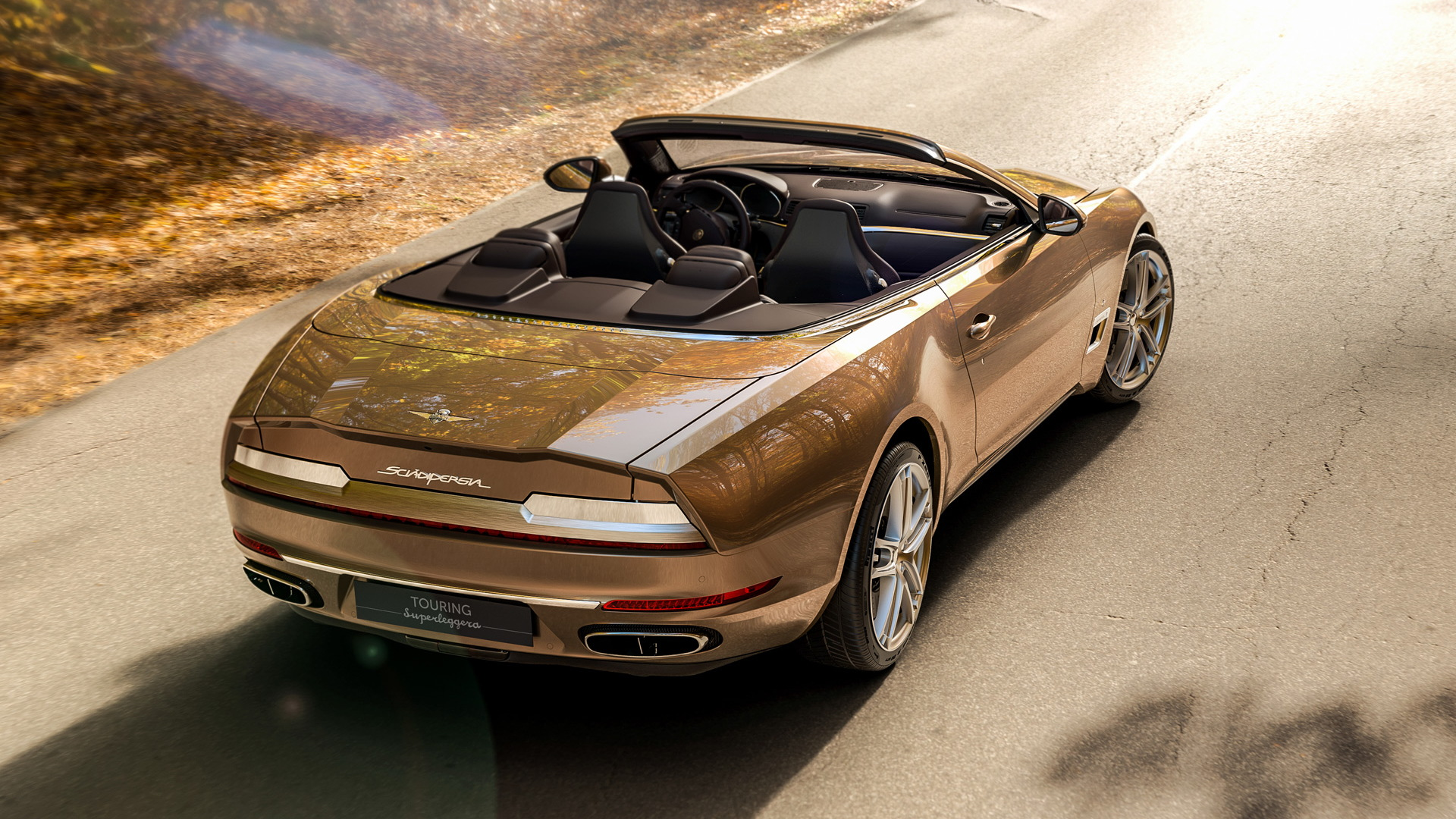 Carrozzeria Touring Superleggera Sciadipersia Cabriolet