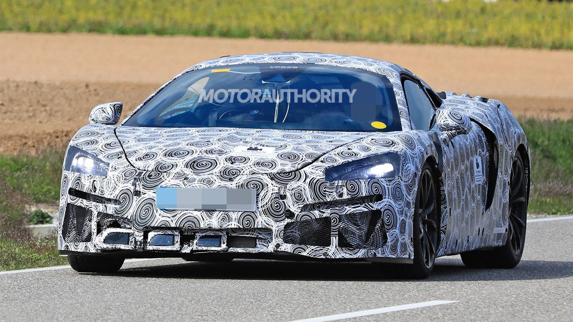 McLaren Sports Series hybrid spy shots - Photo credit: S. Baldauf/SB-Medien