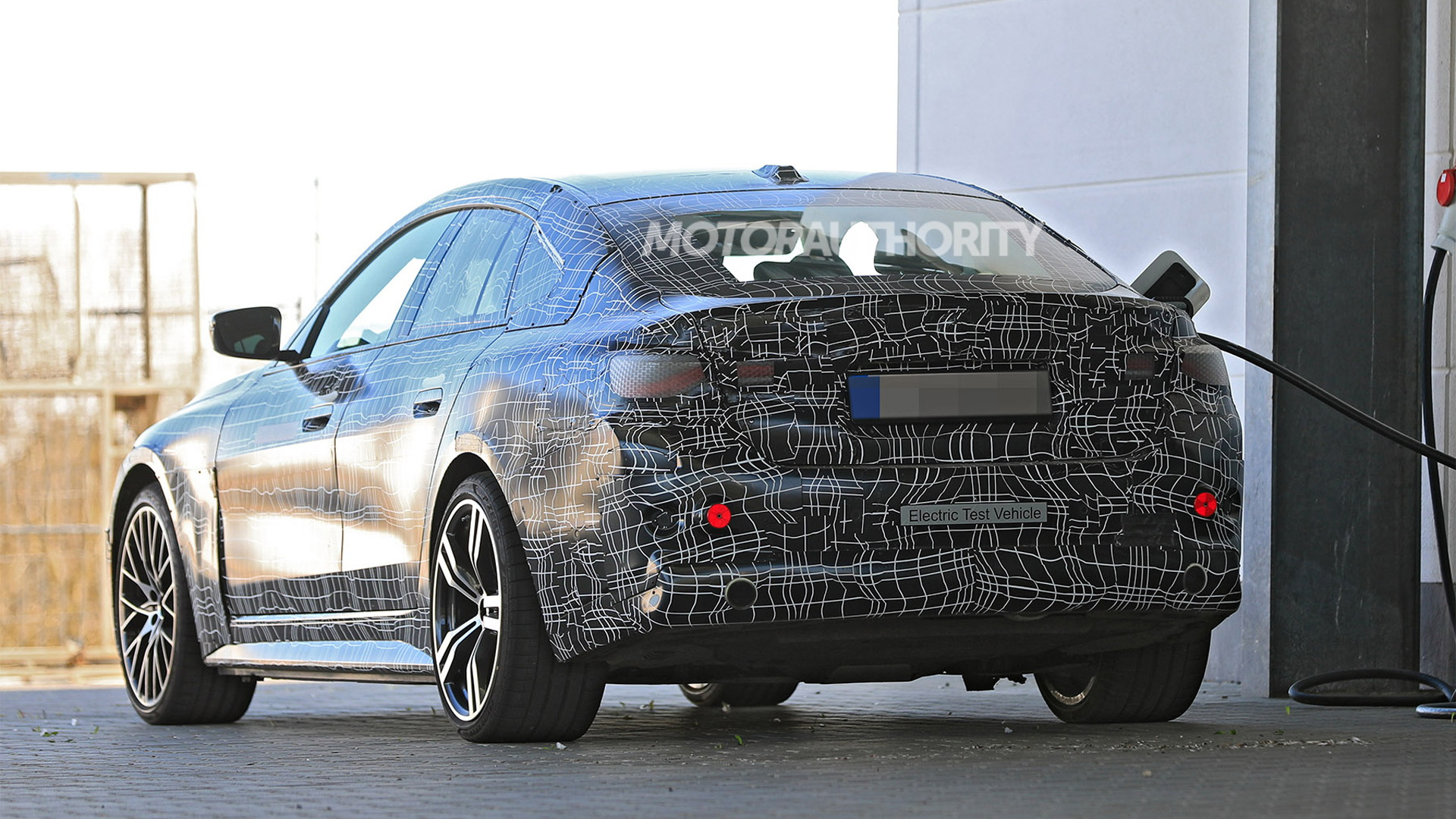 2022 BMW i4 spy shots - Photo credit: S. Baldauf/SB-Medien