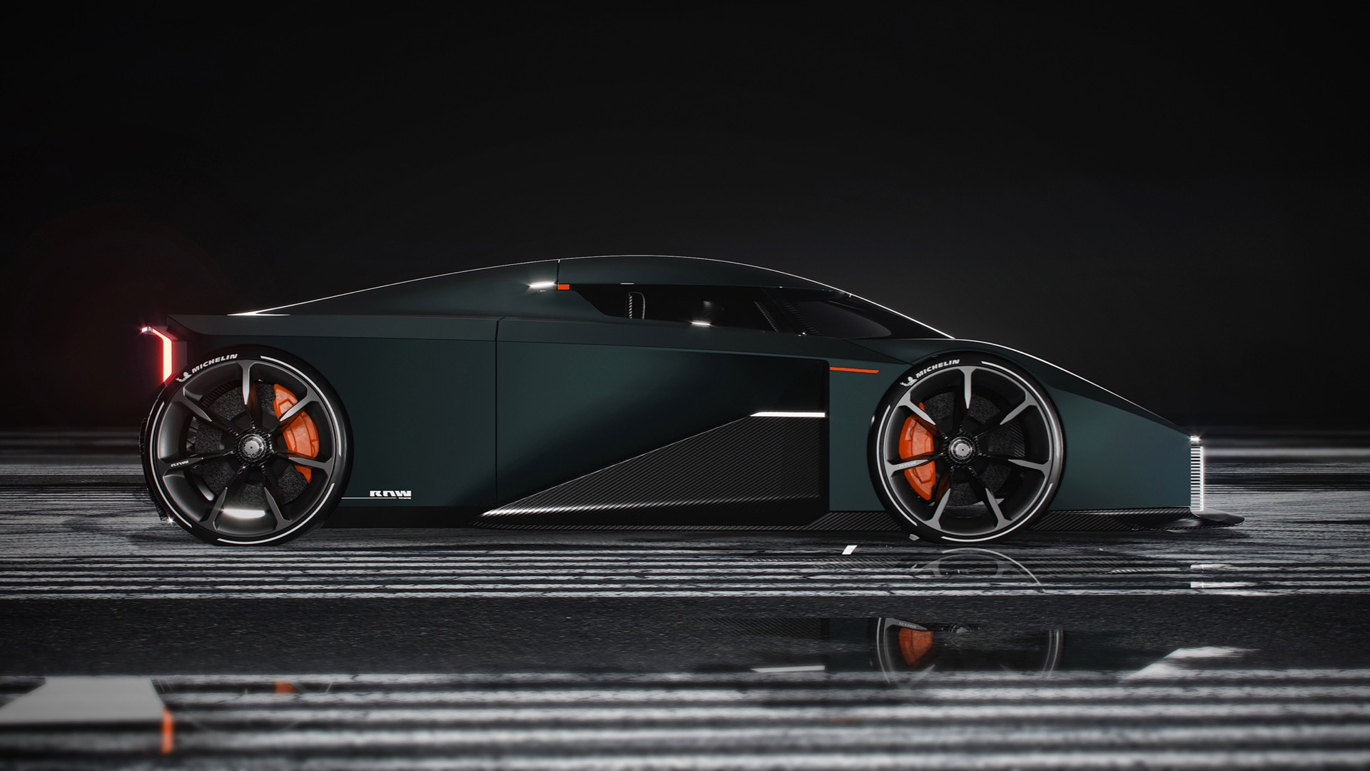 Esa Mustonen Koenigsegg digital concept car