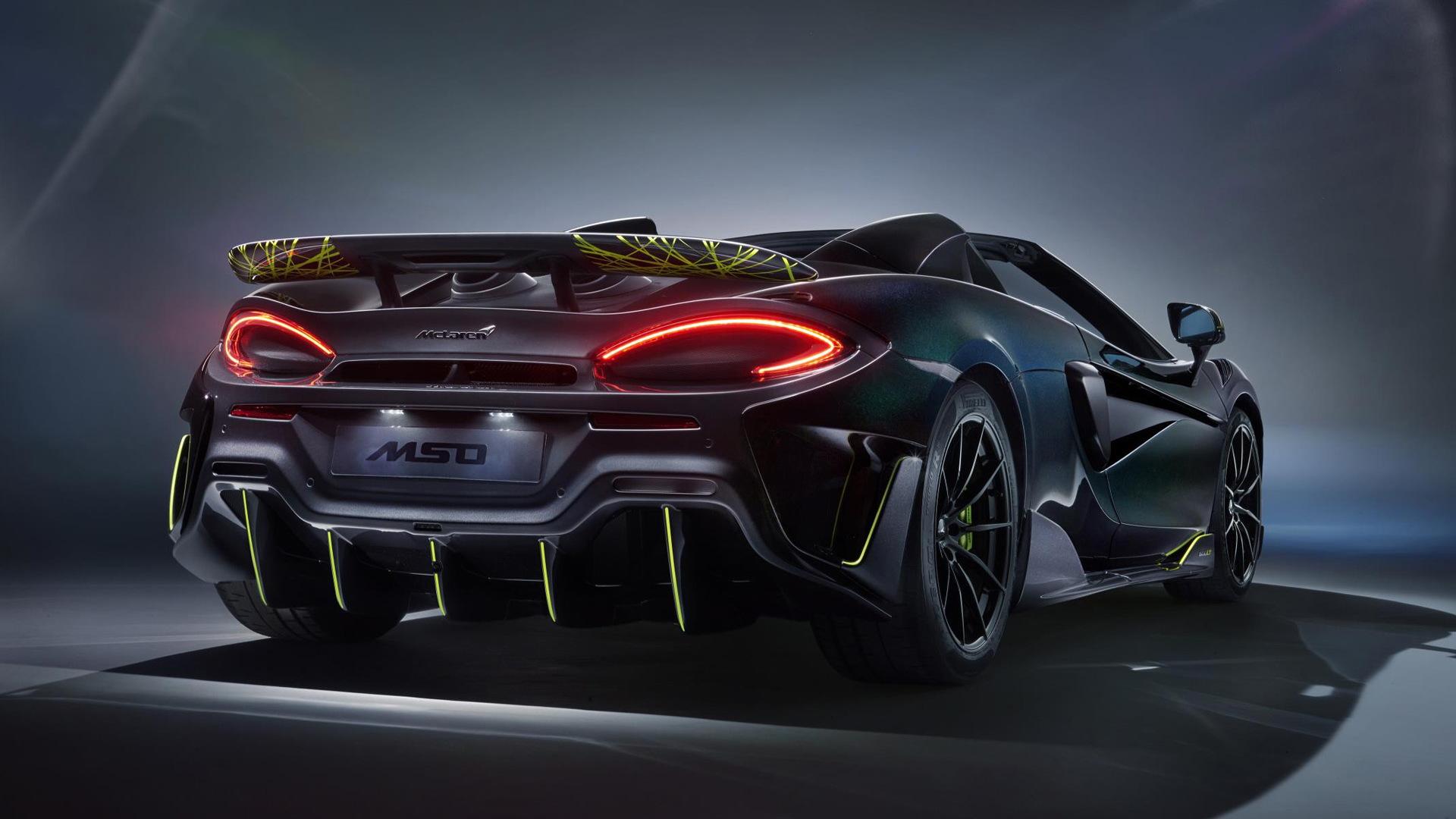 McLaren 600LT Spider Segestria Borealis by MSO