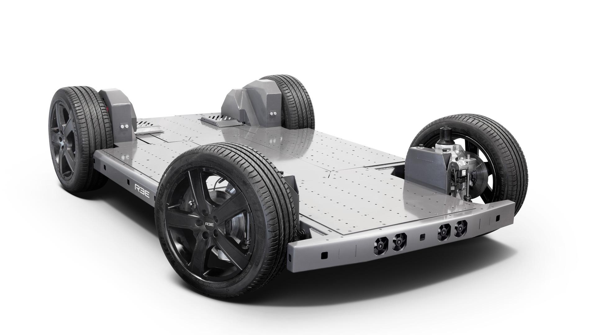REE modular EV platform