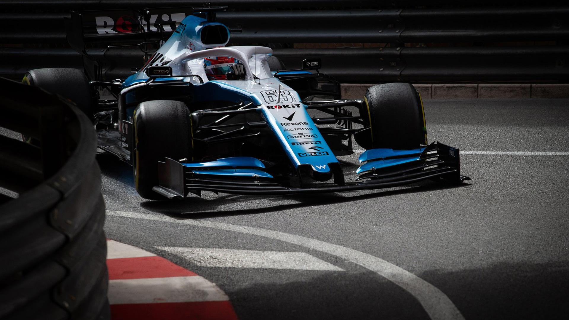 2019 Williams FW42 Formula One race car