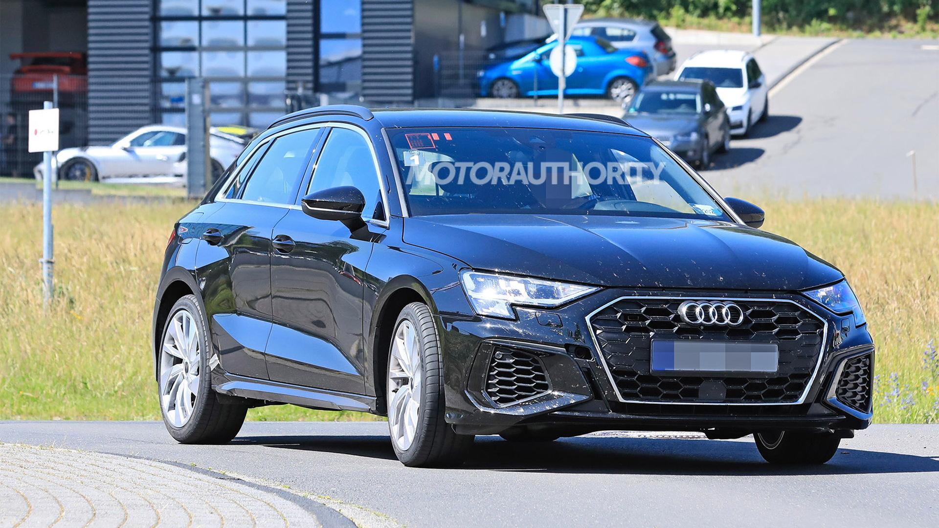 2021 Audi S3 Sportback spy shots - Photo credit:S. Baldauf/SB-Medien