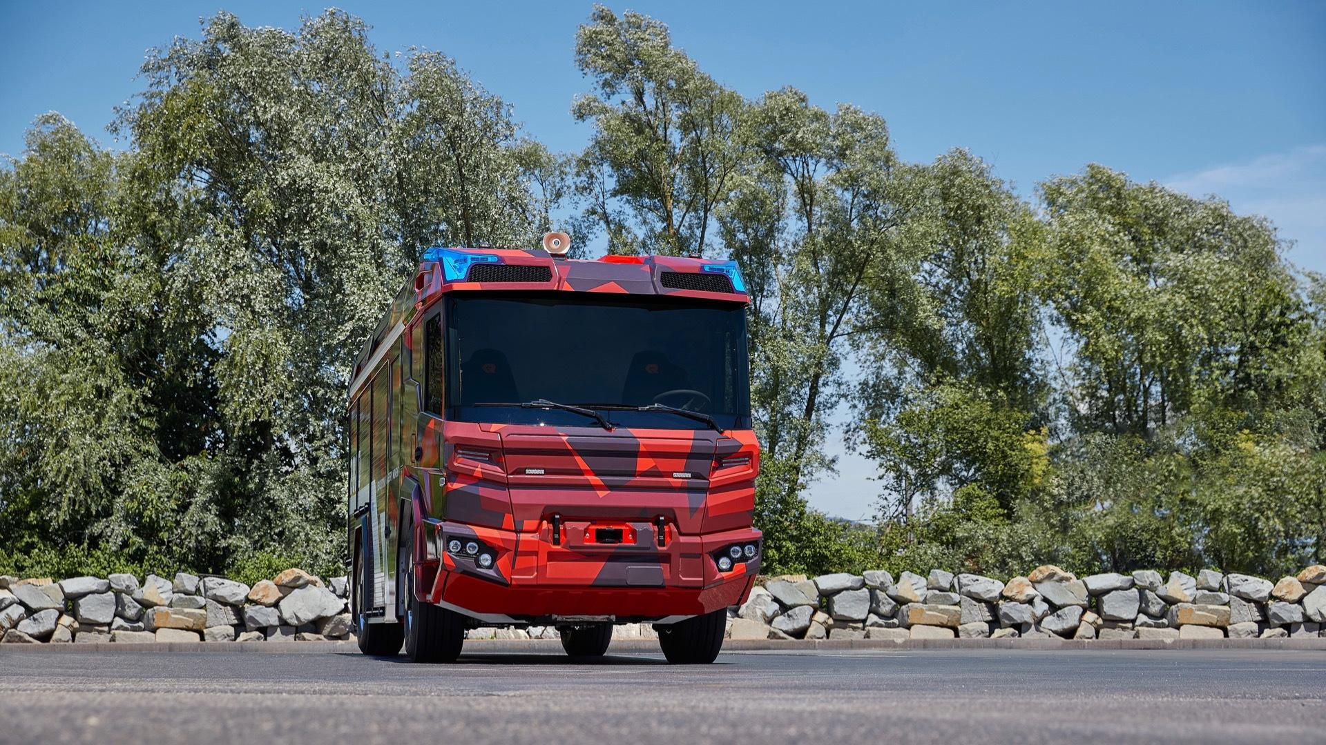 Rosenbauer RT electric truck