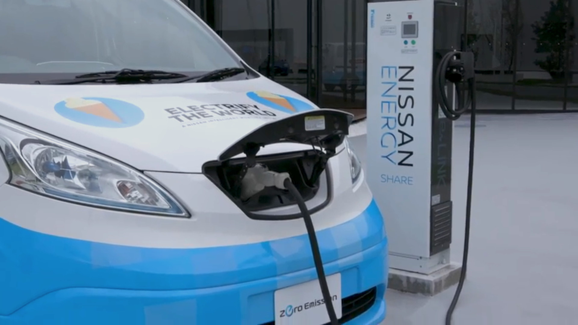 Nissan Energy Share with Nissan e-NV200
