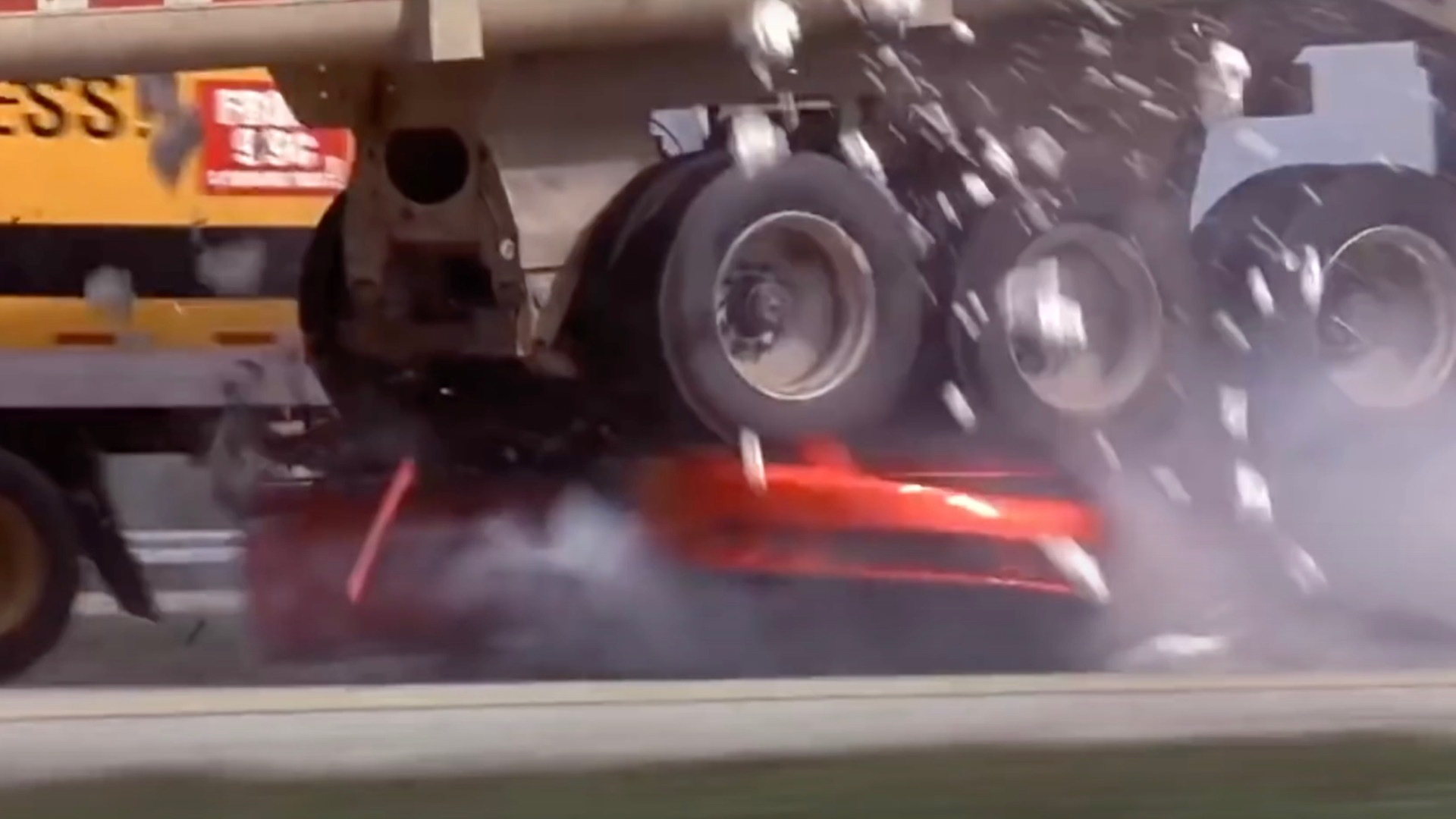 "Saleen Mustang crash from ""2 Fast 2 Furious"""