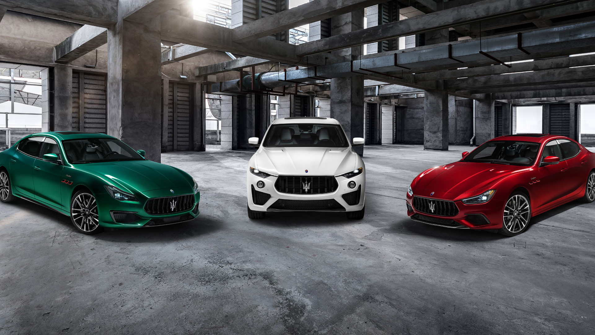 Trofeo versions of Maserati Ghibli, Quattroporte and Levante