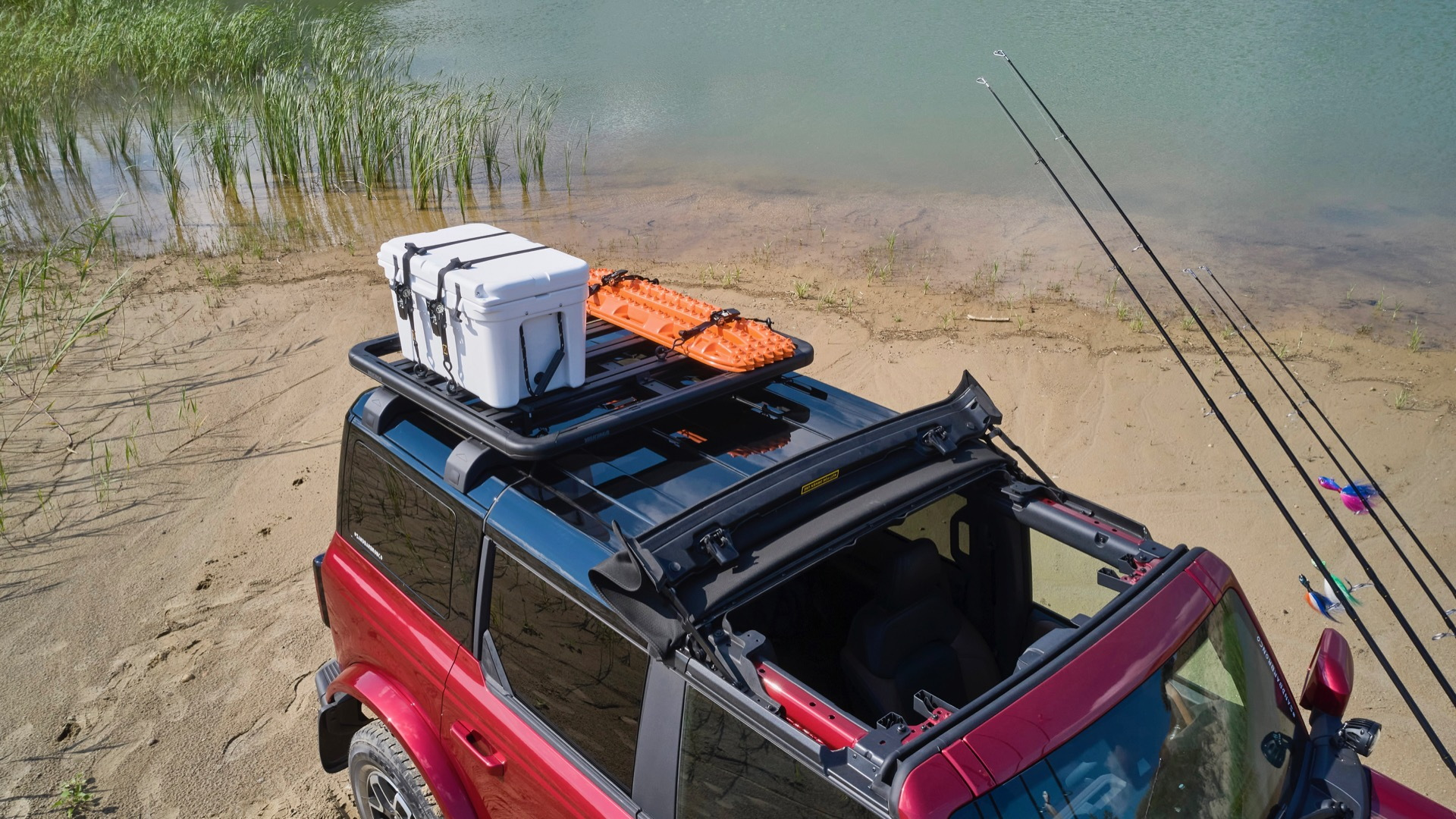 Ford Bronco Four-Door Outer Banks Fishing Guide concept