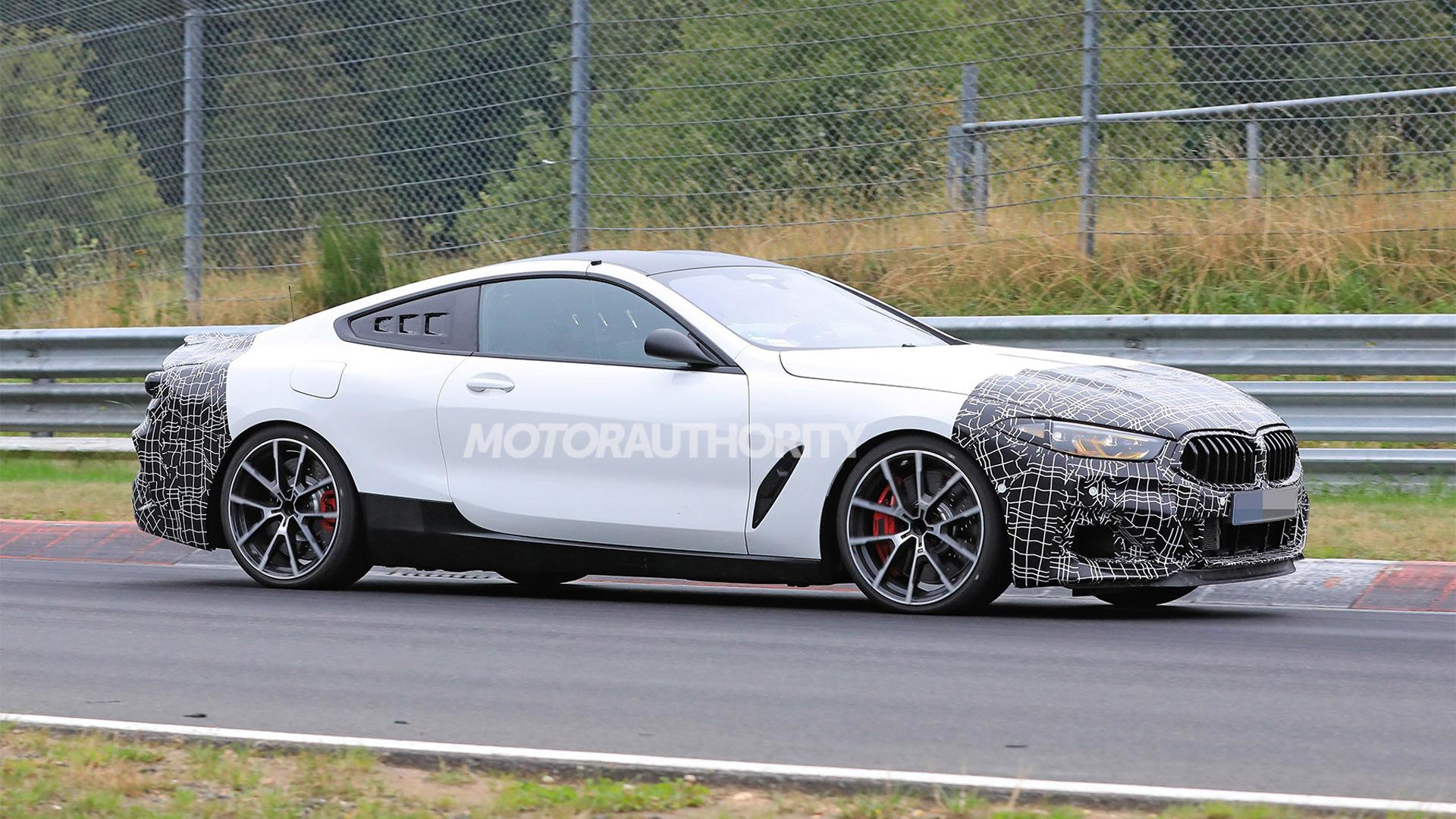 BMW mid-engine platform test mule spy shots - Photo credit:S. Baldauf/SB-Medien