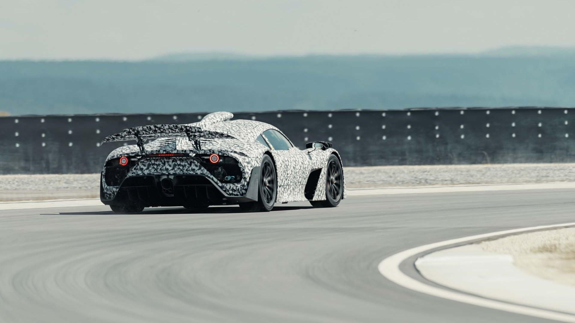 Mercedes-AMG One prototype