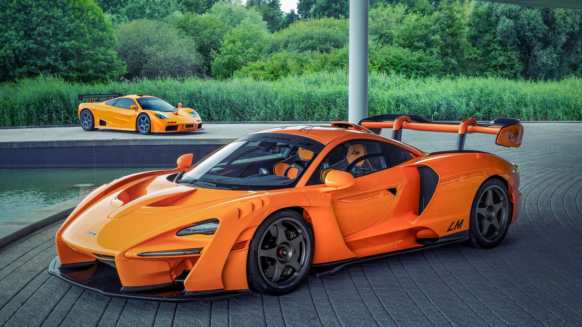 McLaren F1 LM and Senna LM