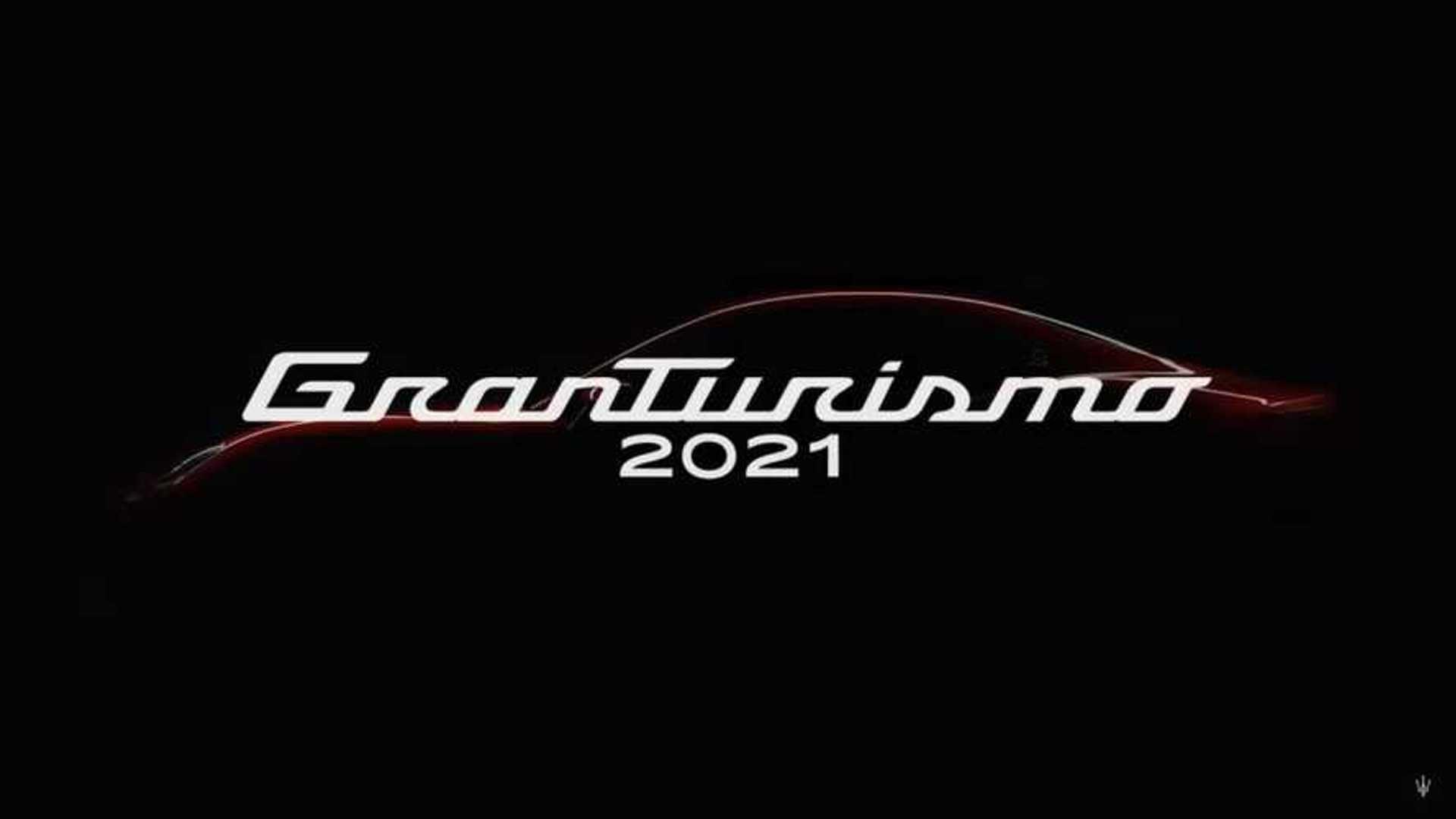 Teaser for new Maserati GranTurismo debuting in 2021 - Photo credit: Motor1/Maserati