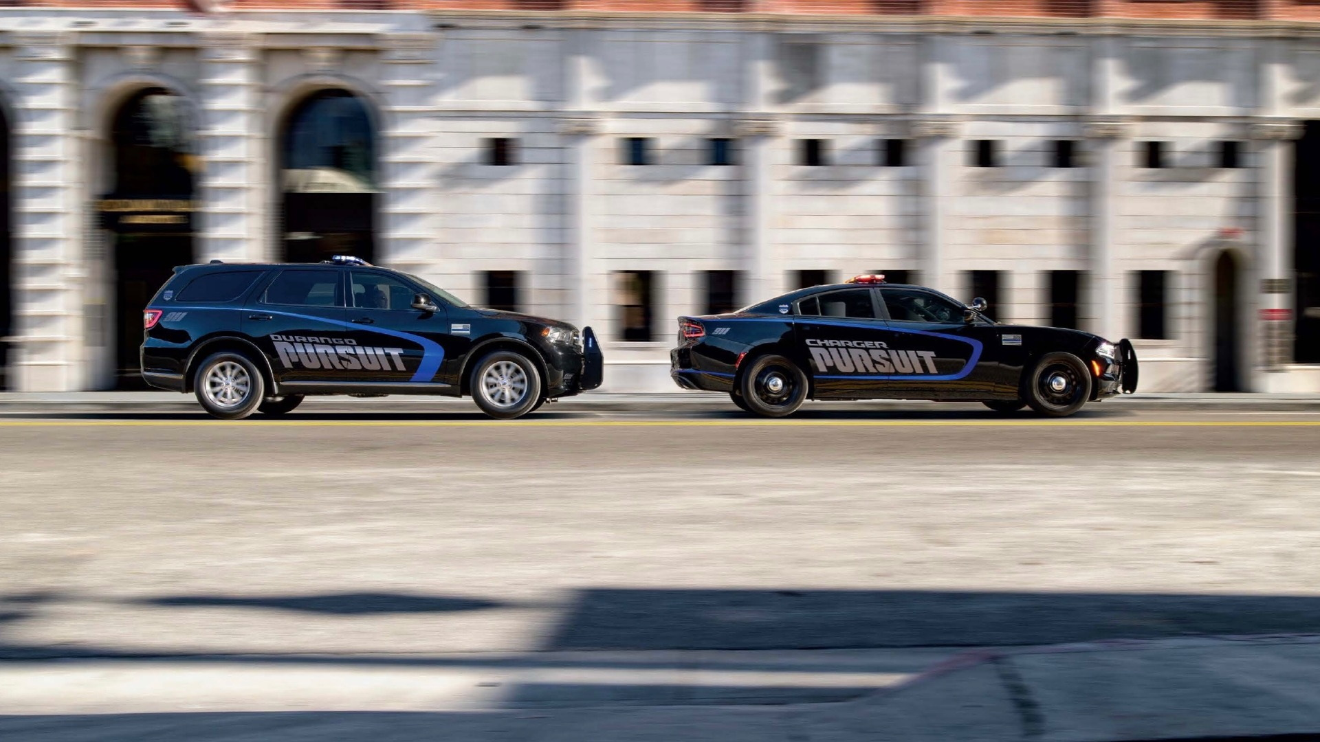 2021 Dodge Charger Pursuit and 2021 Dodge Durango Pursuit