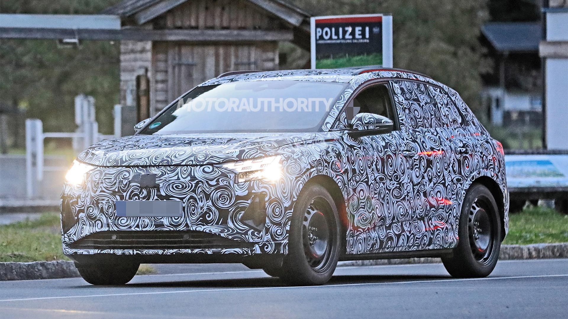 2022 Audi Q4 E-Tron spy shots - Photo credit:S. Baldauf/SB-Medien