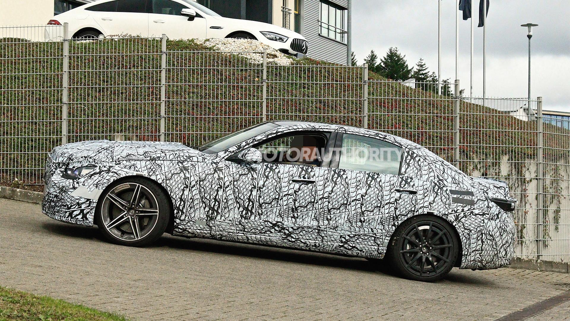 2023 Mercedes-AMG C63 spy shots - Photo credit:S. Baldauf/SB-Medien