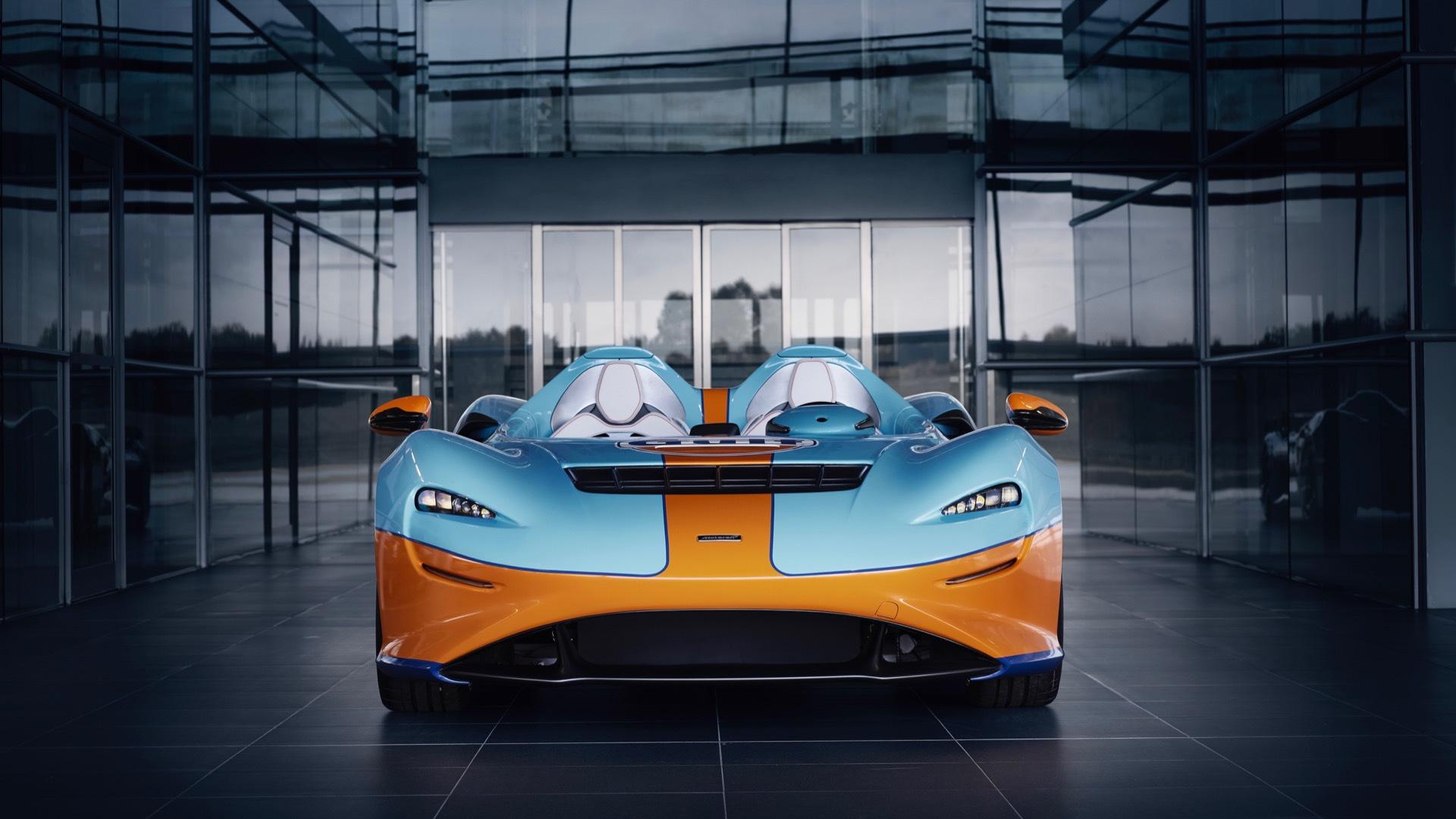 McLaren Elva Gulf Theme