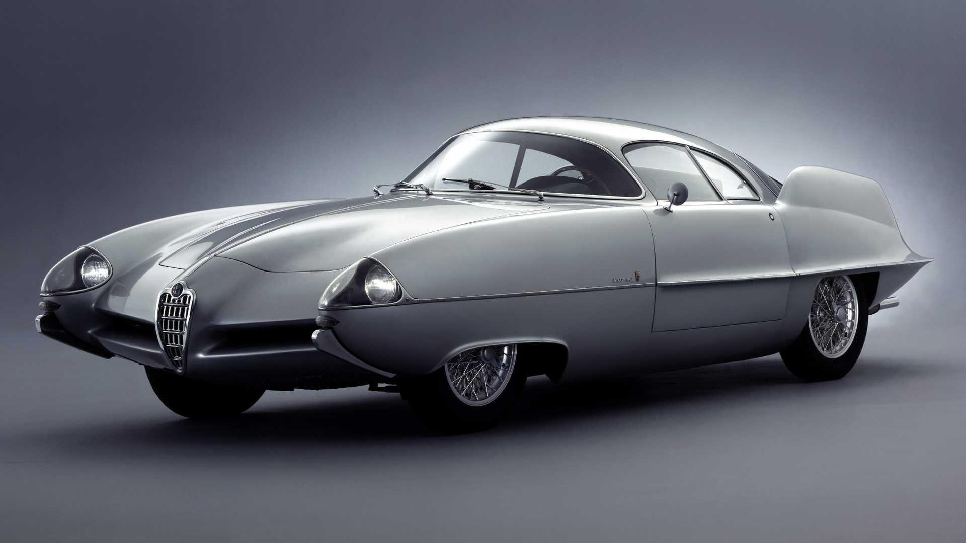Alfa Romeo B.A.T. 9D concept by Franco Scaglione/Bertone