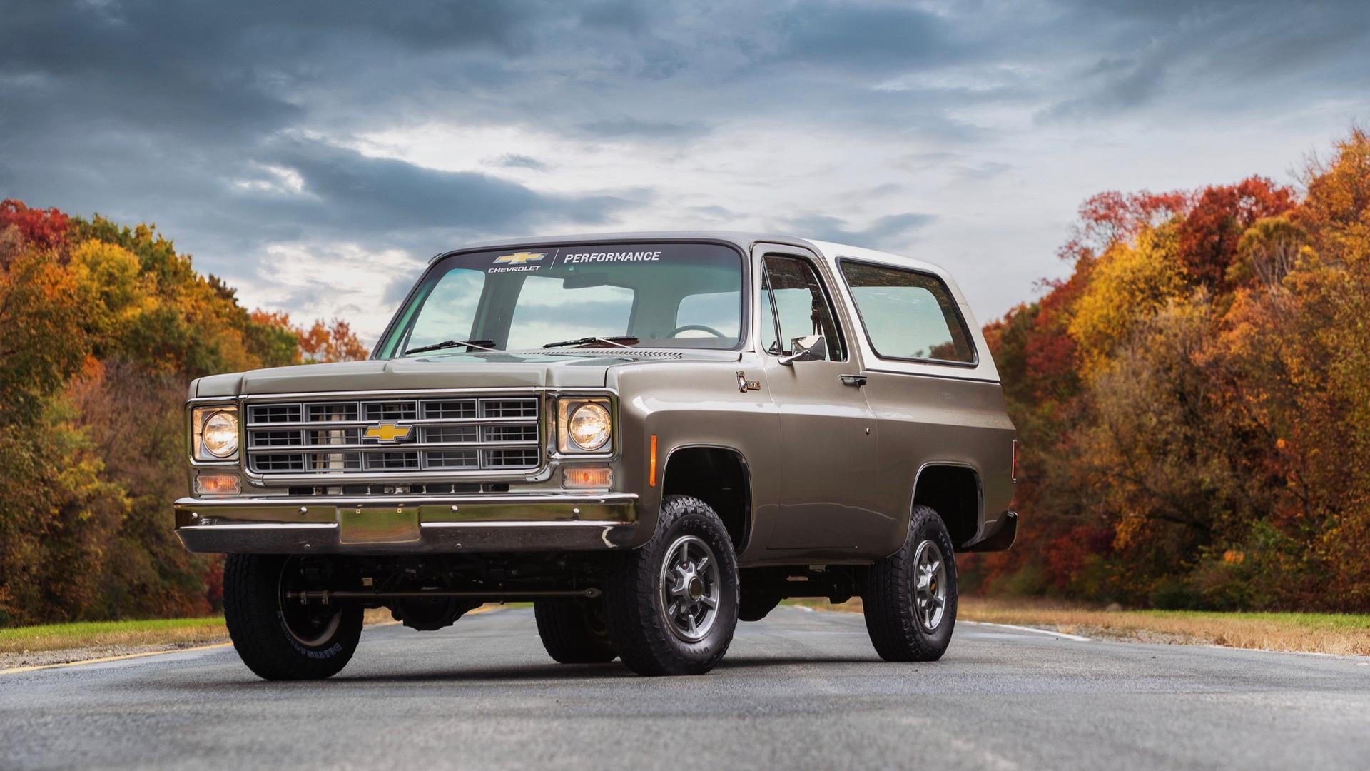 1977 Chevrolet K5 Blazer-E
