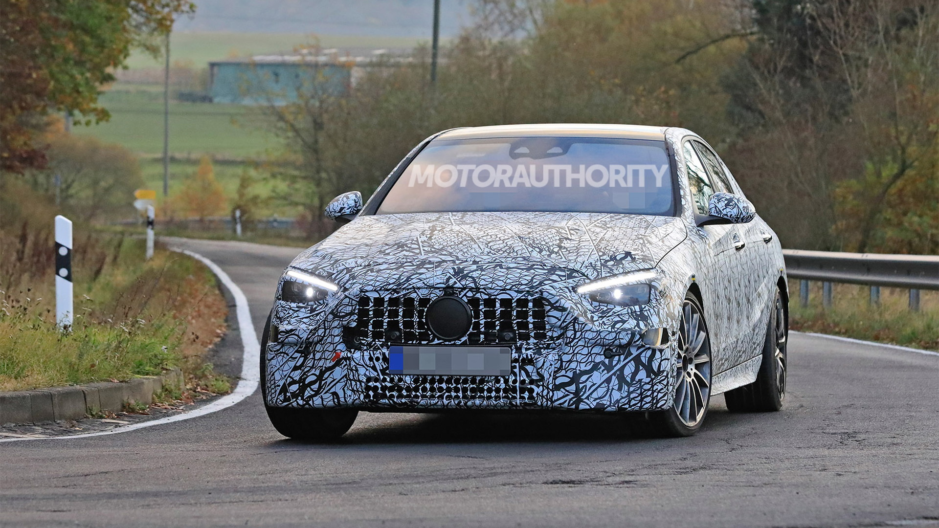 2022 Mercedes-AMG C53 spy shots - Photo credit: S. Baldauf/SB-Medien