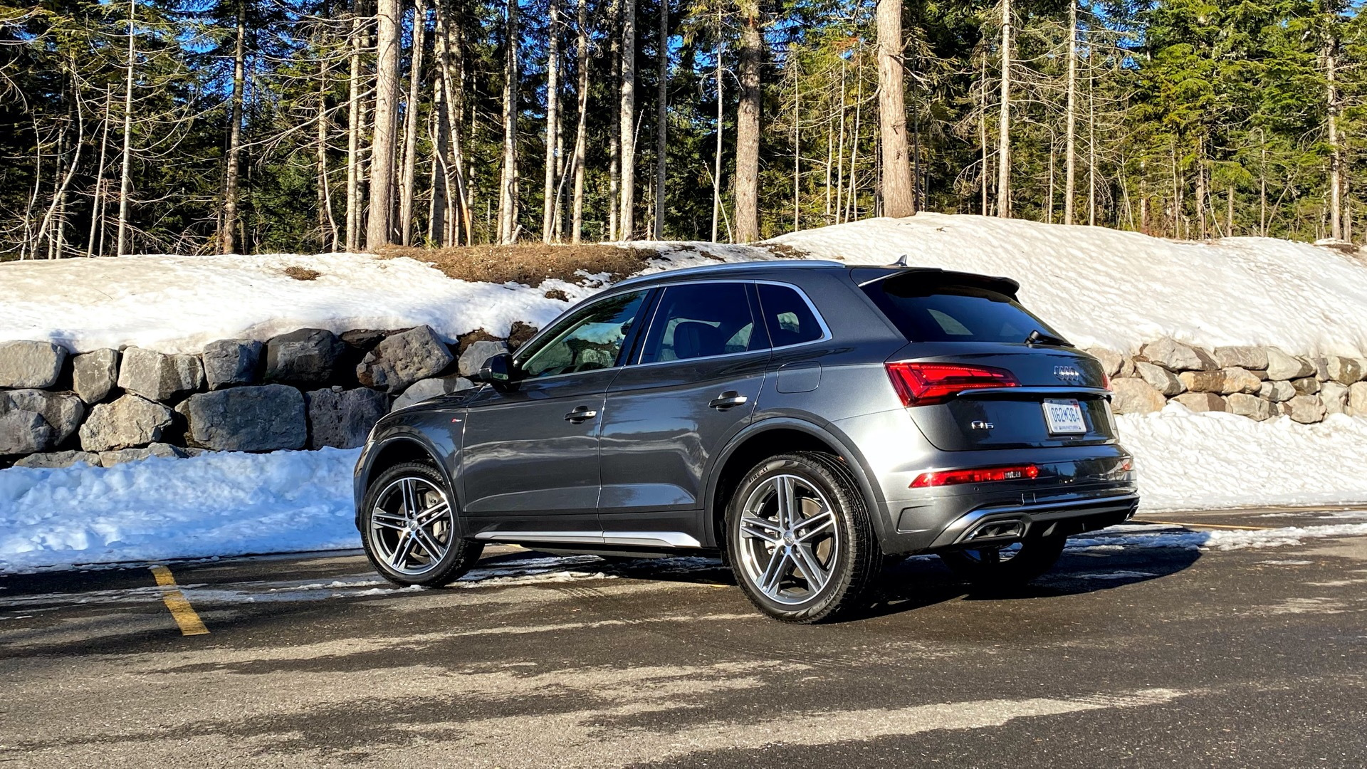 First Drive Review 2021 Audi Q5 Plug In Hybrid Is For Zoom Town Weekend Warriors