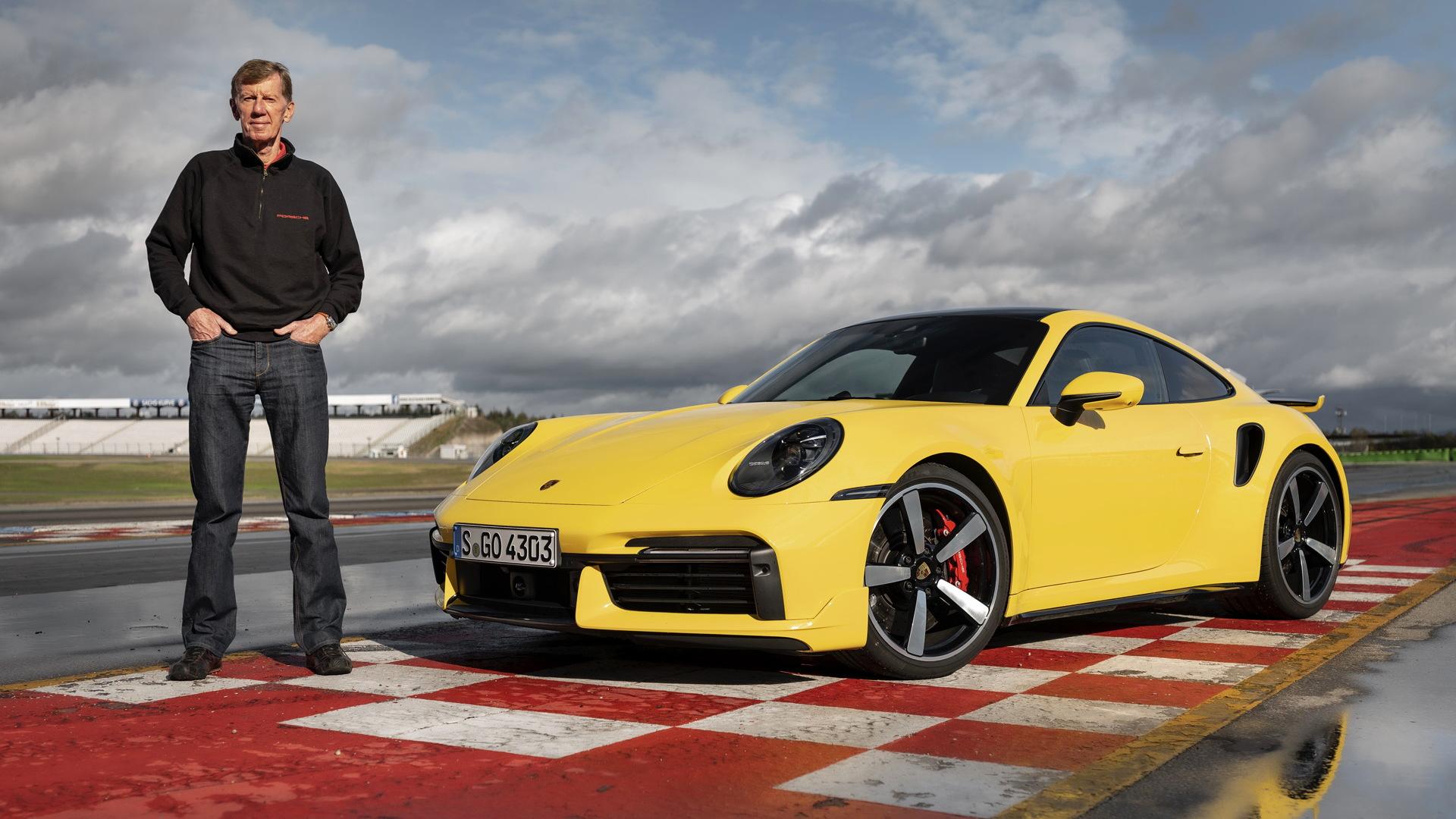 Walter Röhrl and the 992-generation Porsche 911 Turbo
