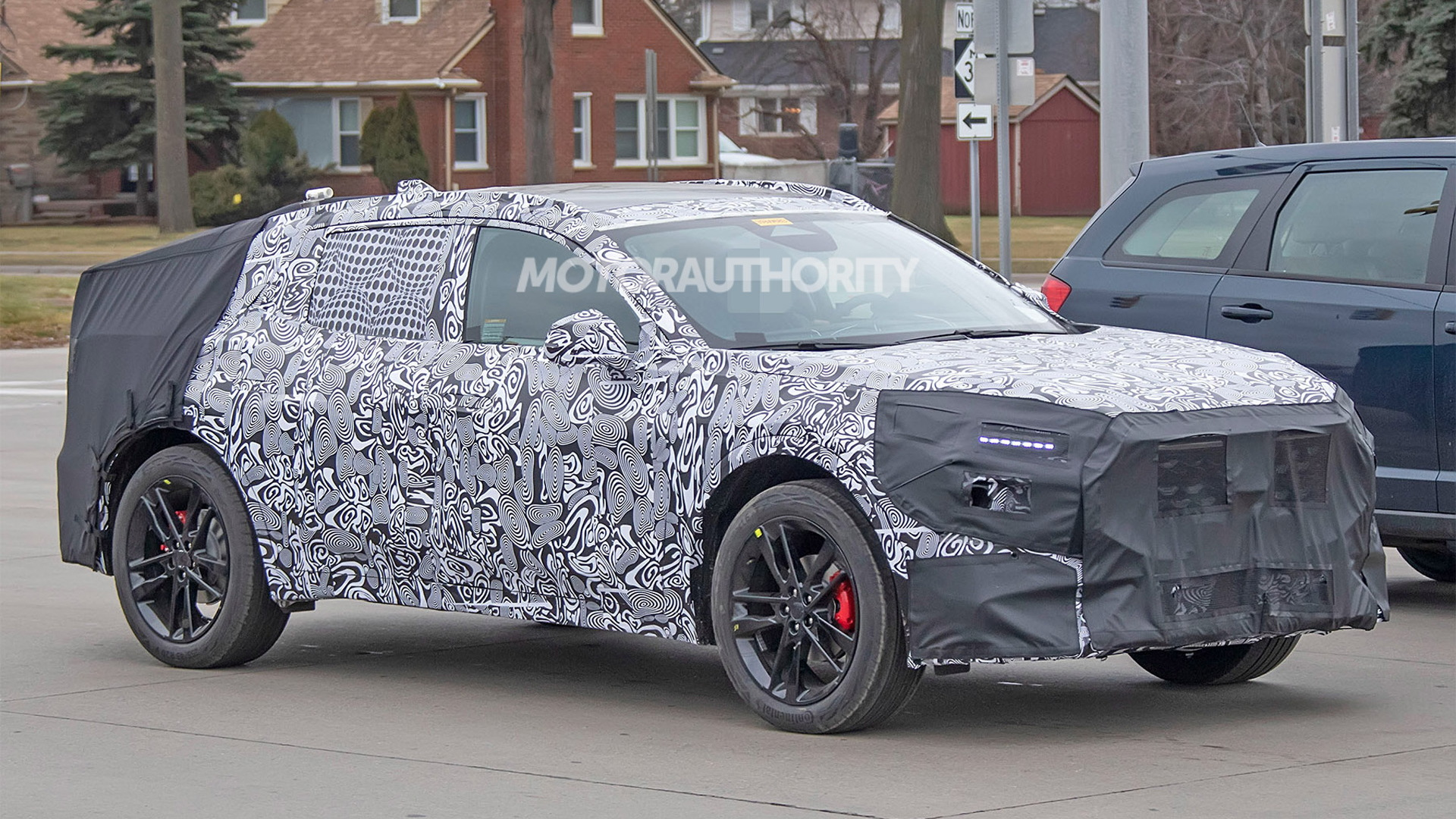 2022 Ford Fusion Active spy shots - Photo credit: S. Baldauf/SB-Medien