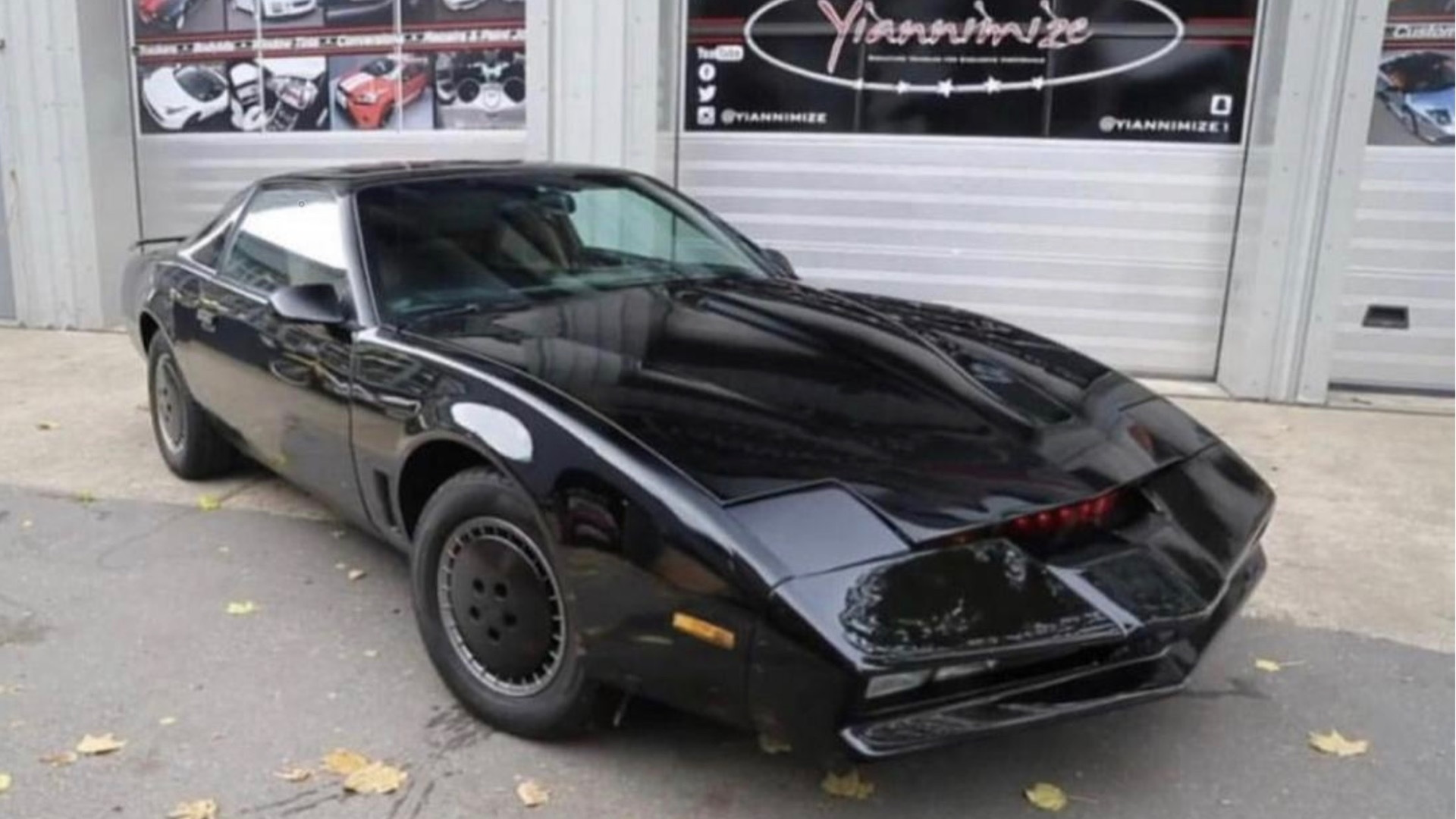 KITT Pontiac Firebird Trans Am owned by David Hasselhoff (Photo by LiveAuctioneers)