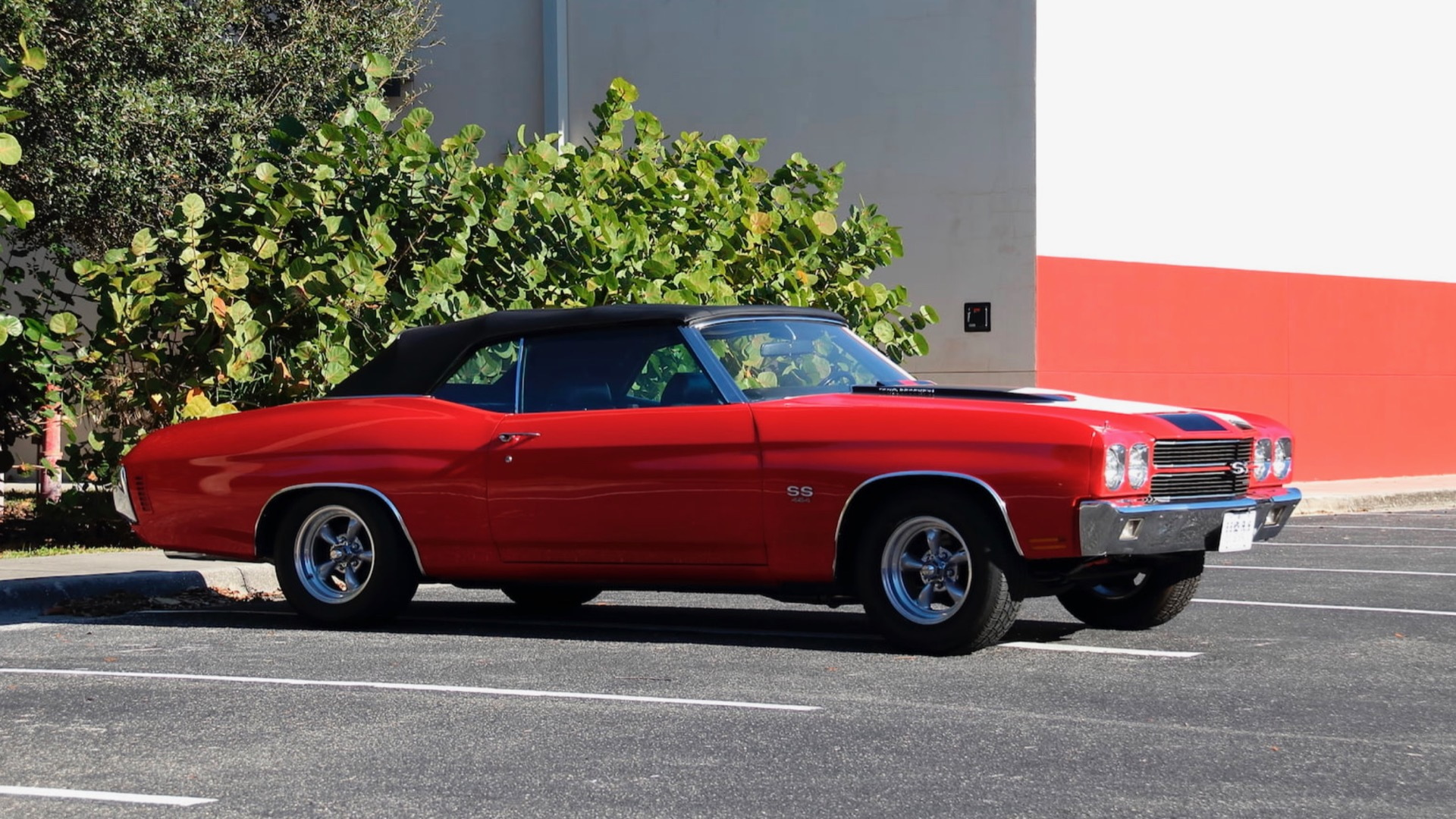 1970 Chevrolet Chevelle SS from Rick Treworgy collection (Photo by Mecum Auctions)
