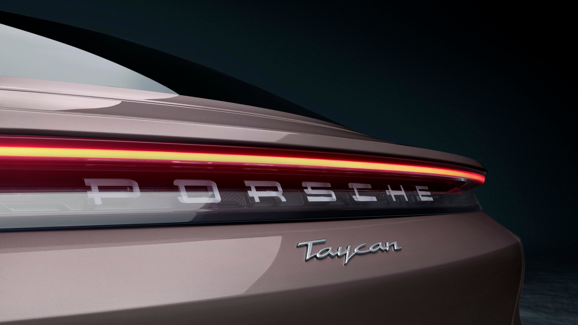 2021 Porsche Taycan rear-wheel drive