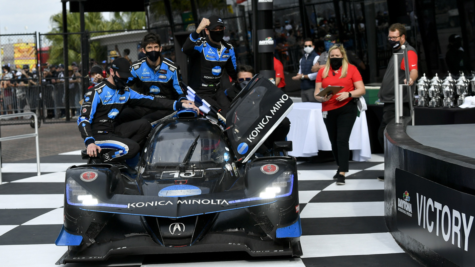 No. 10 Wayne Taylor Racing Acura ARX-05 DPi at the 2021 24 Hours of Daytona