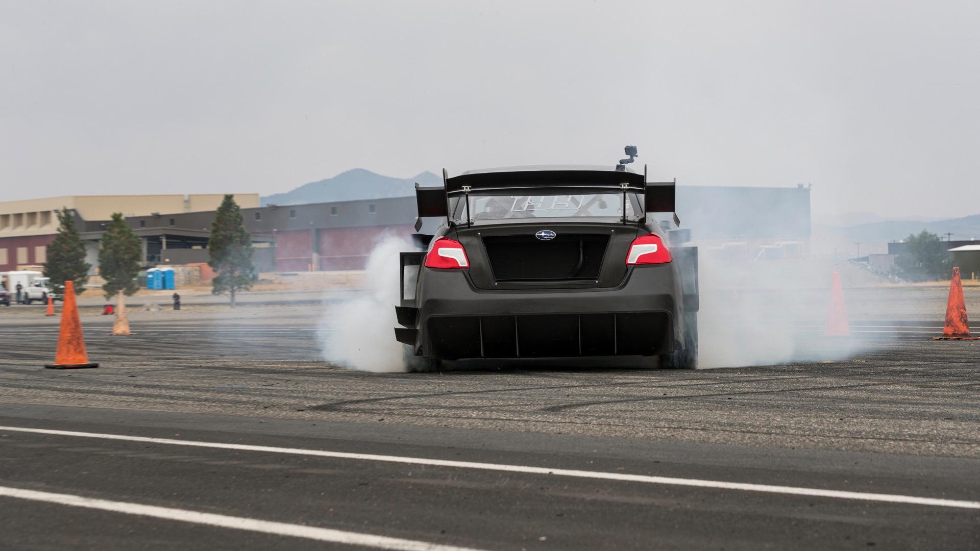 Subaru Launch Control: Road to Gymkhana