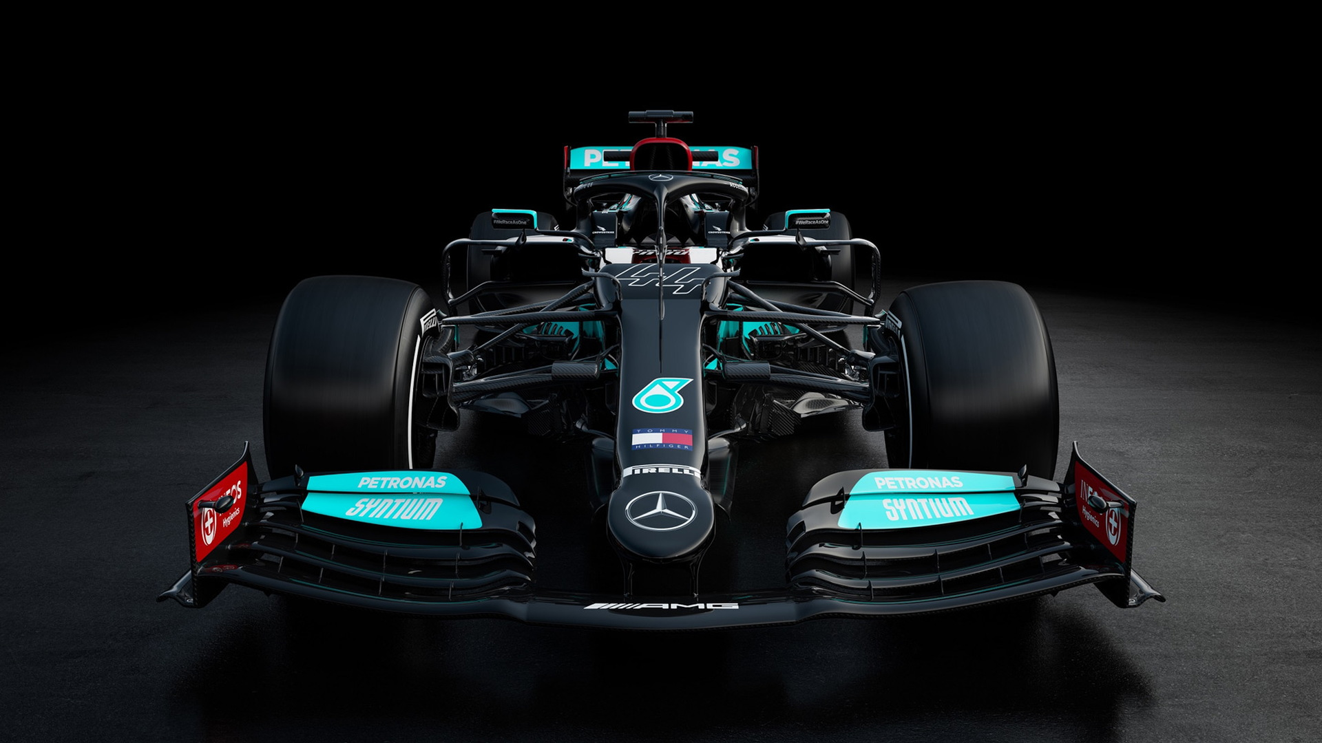 2021 Mercedes-Benz AMG W12 E Performance Formula One race car