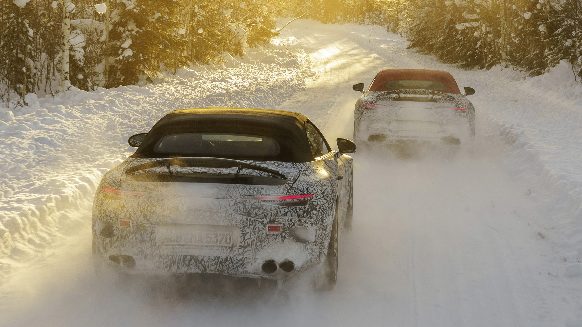 2022 Mercedes-Benz AMG SL Roadster prototype