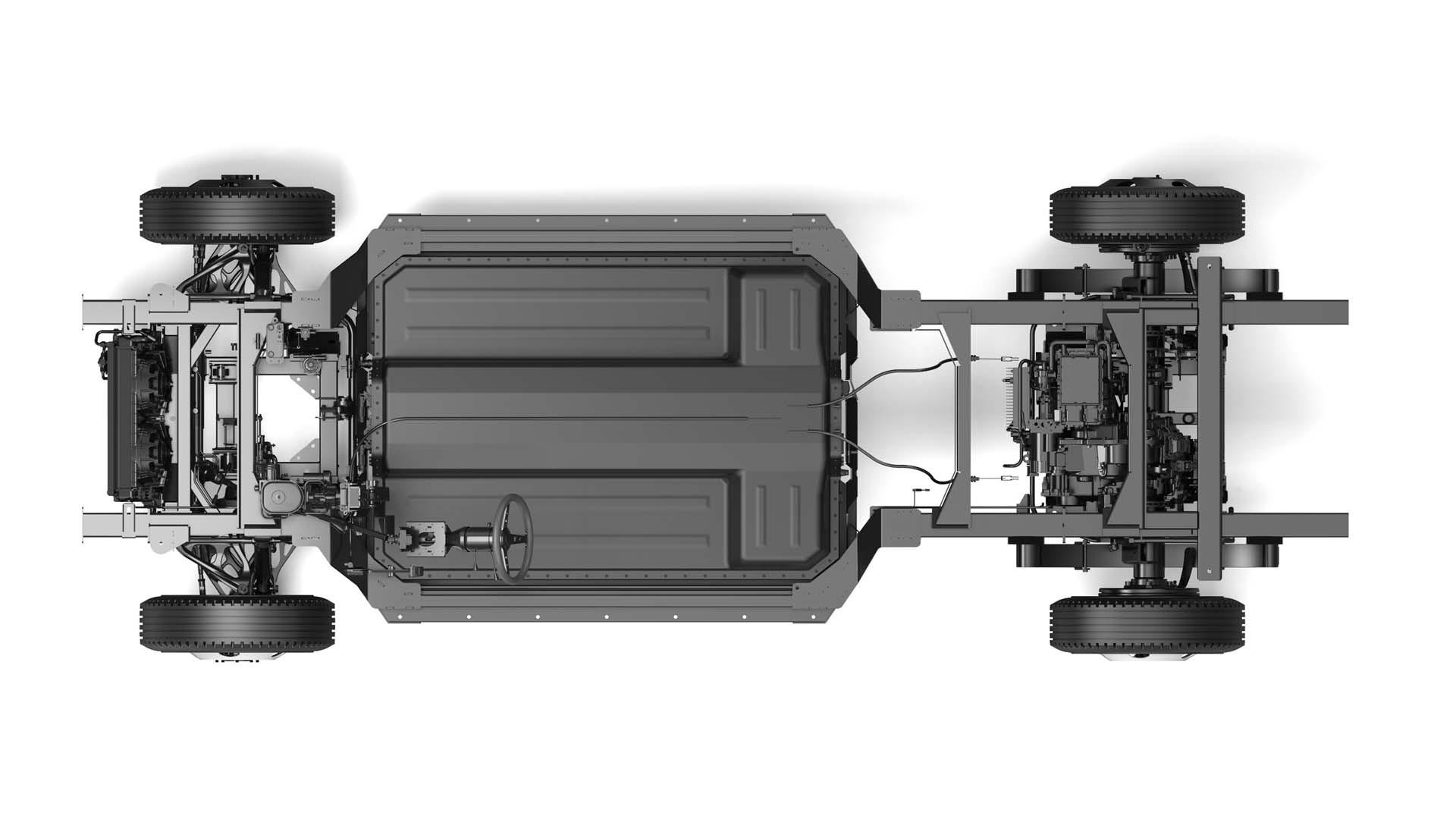 Bollinger Chass-E rear-wheel drive