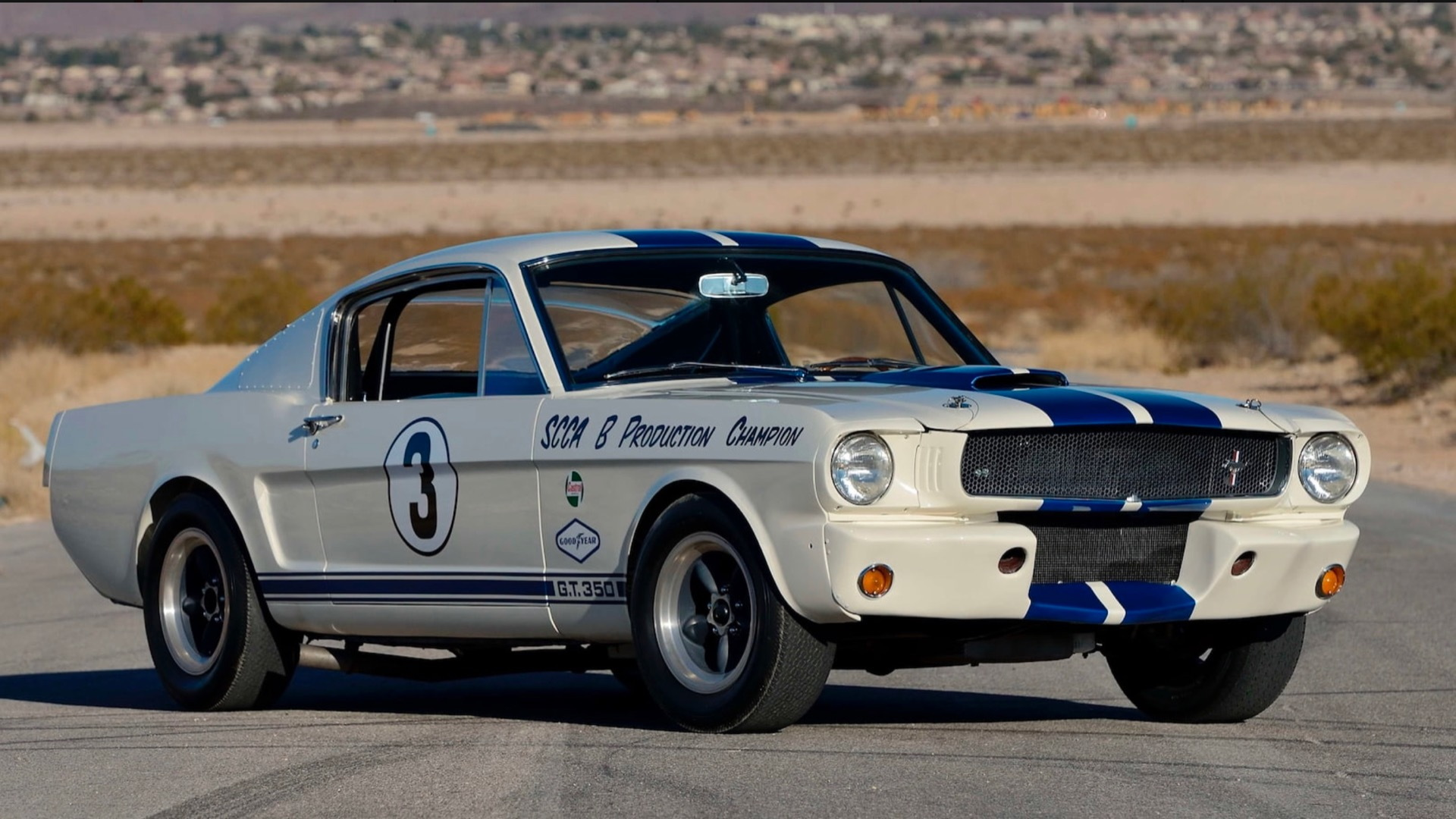 1965 Ford Mustang Shelby GT350R 5R213 (Photo by Mecum Auctions)