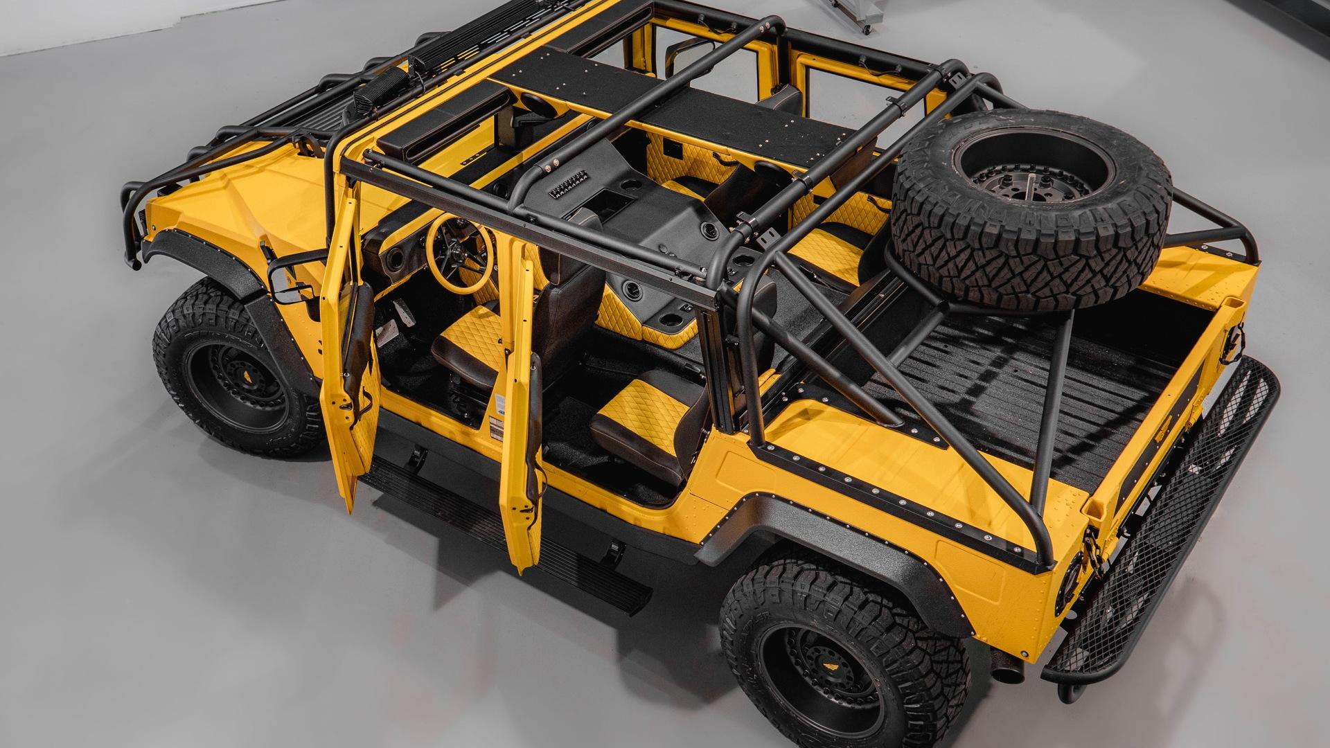 Mil-Spec Automotive M1-R Hummer H1