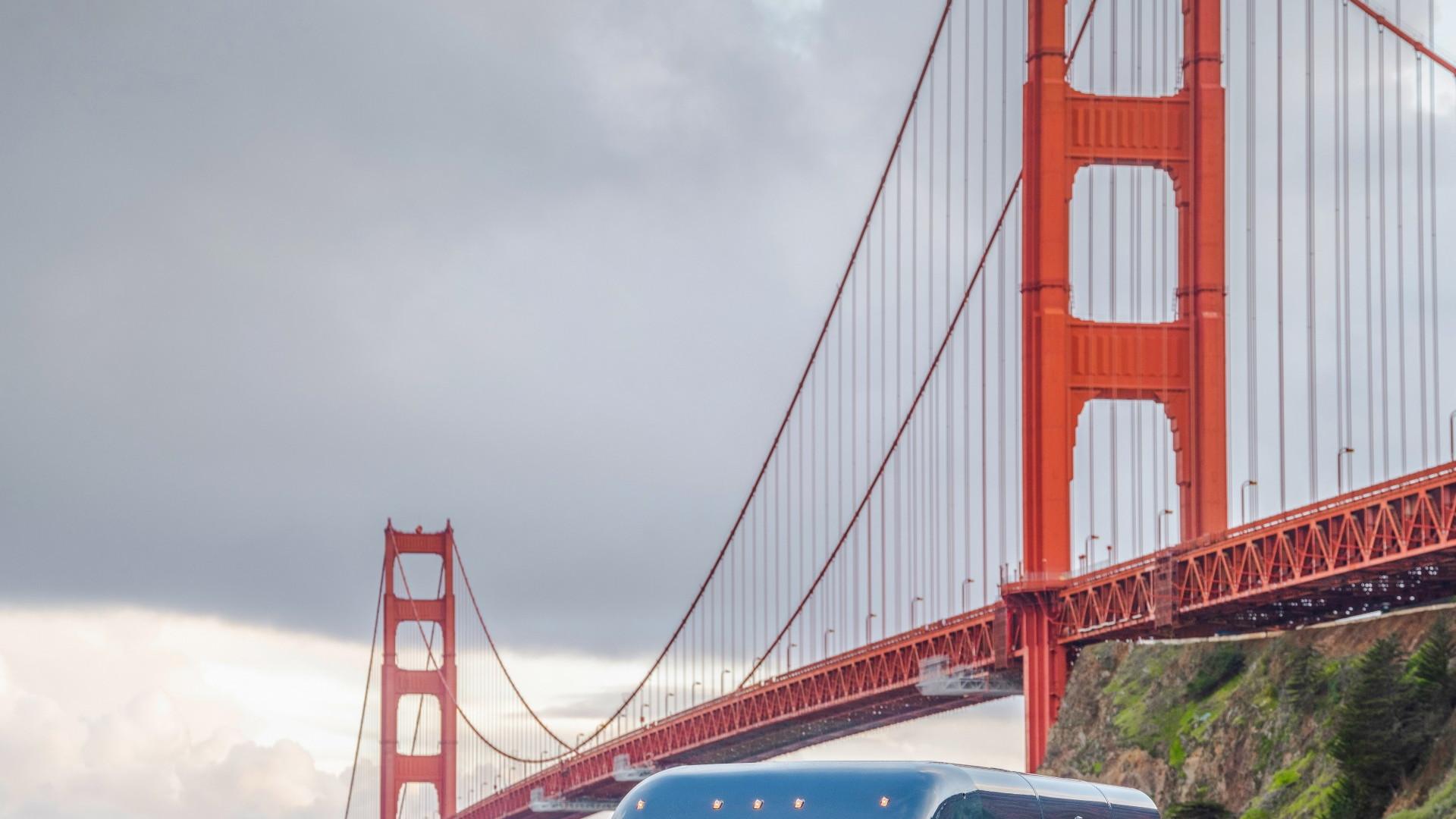Rivian Amazon electric delivery truck  -  San Francisco