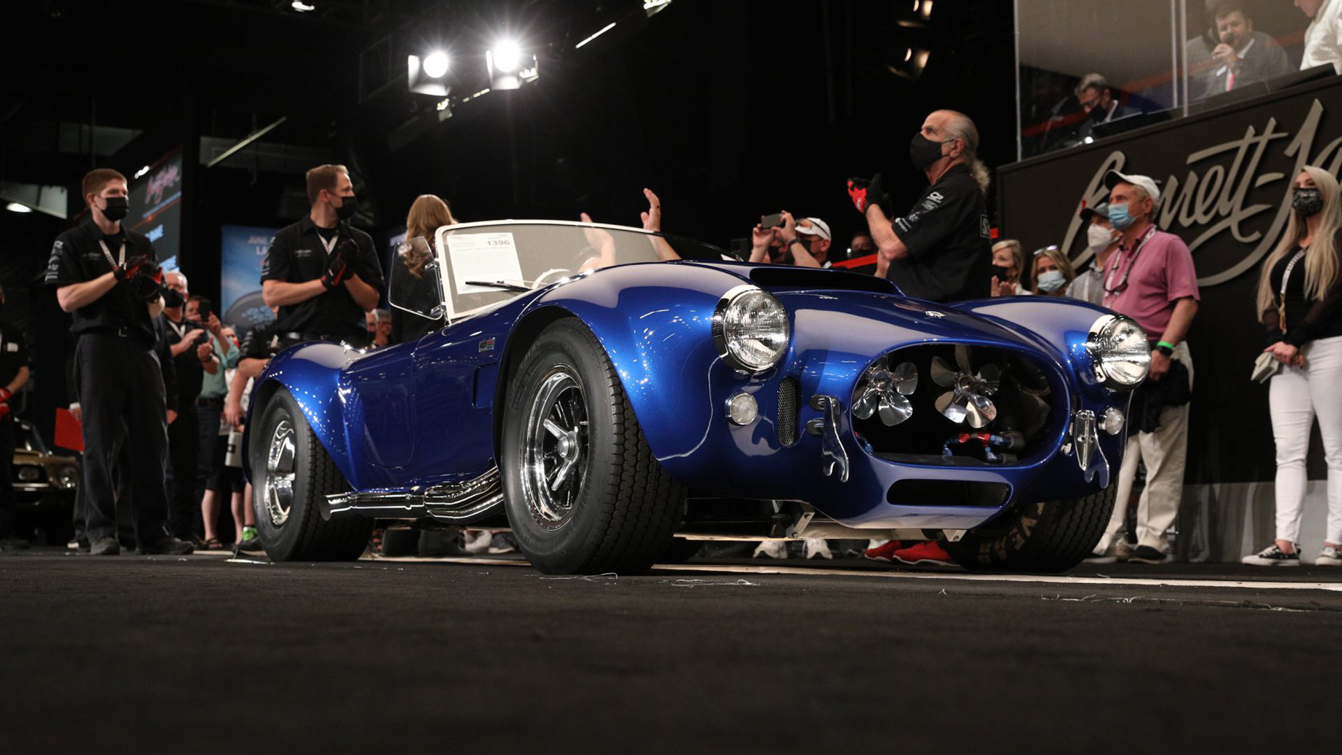 1966 Shelby Cobra 427 Super Snake (chassis no. CSX3015) once owned by Carroll Shelby