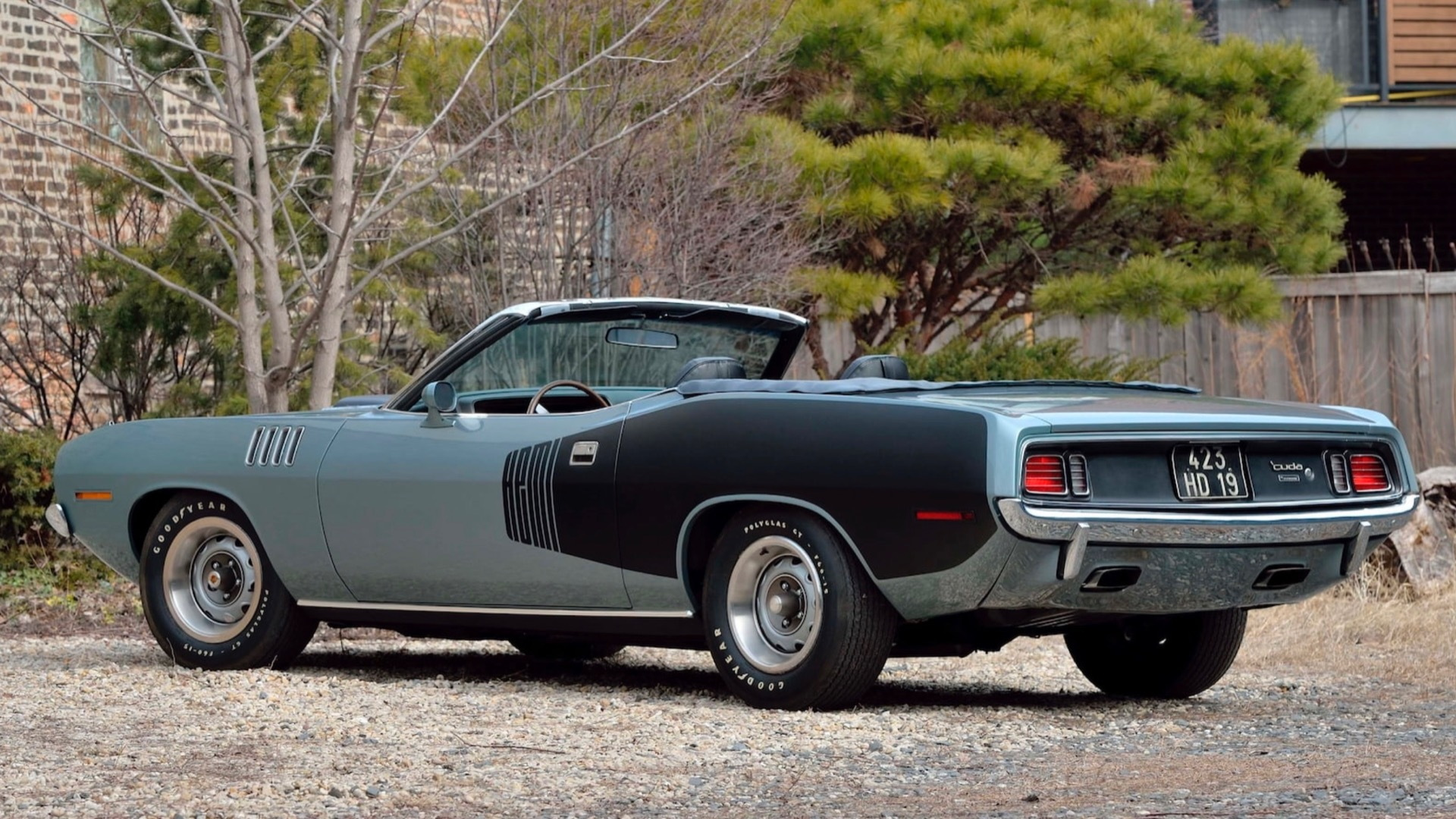 1971 Plymouth Hemi 'Cuda Convertible (Photo by Mecum Auctions)