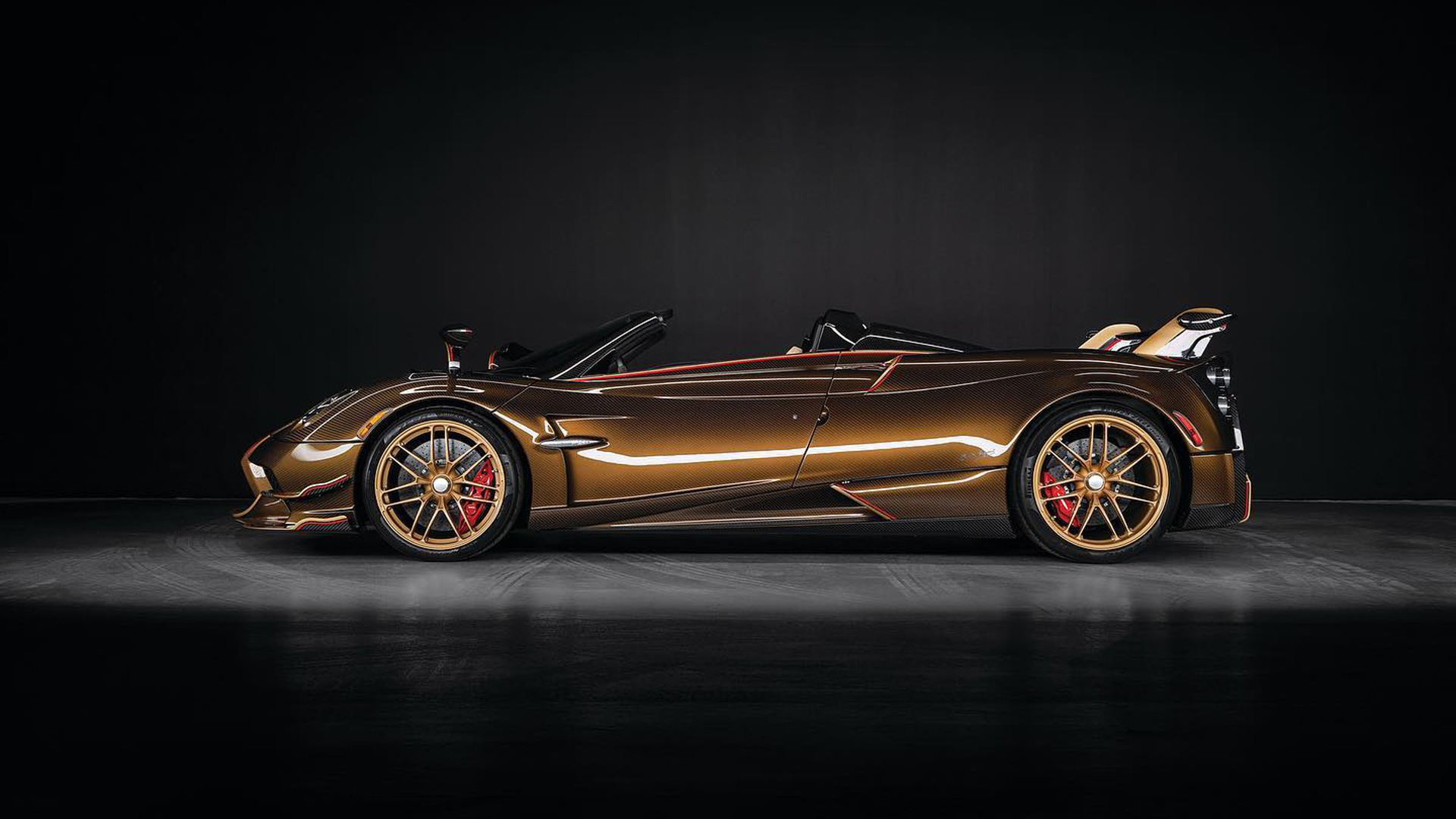 "Pagani Huayra Roadster BC ""Supernova"" - Photo credit: OB Prestige Auto"