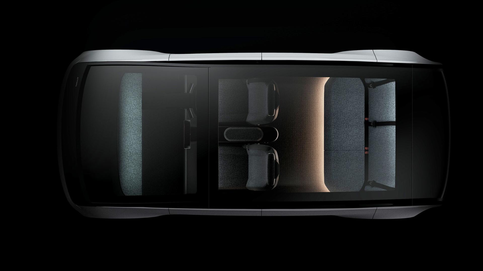 Teaser for Arrival Car due in 2023